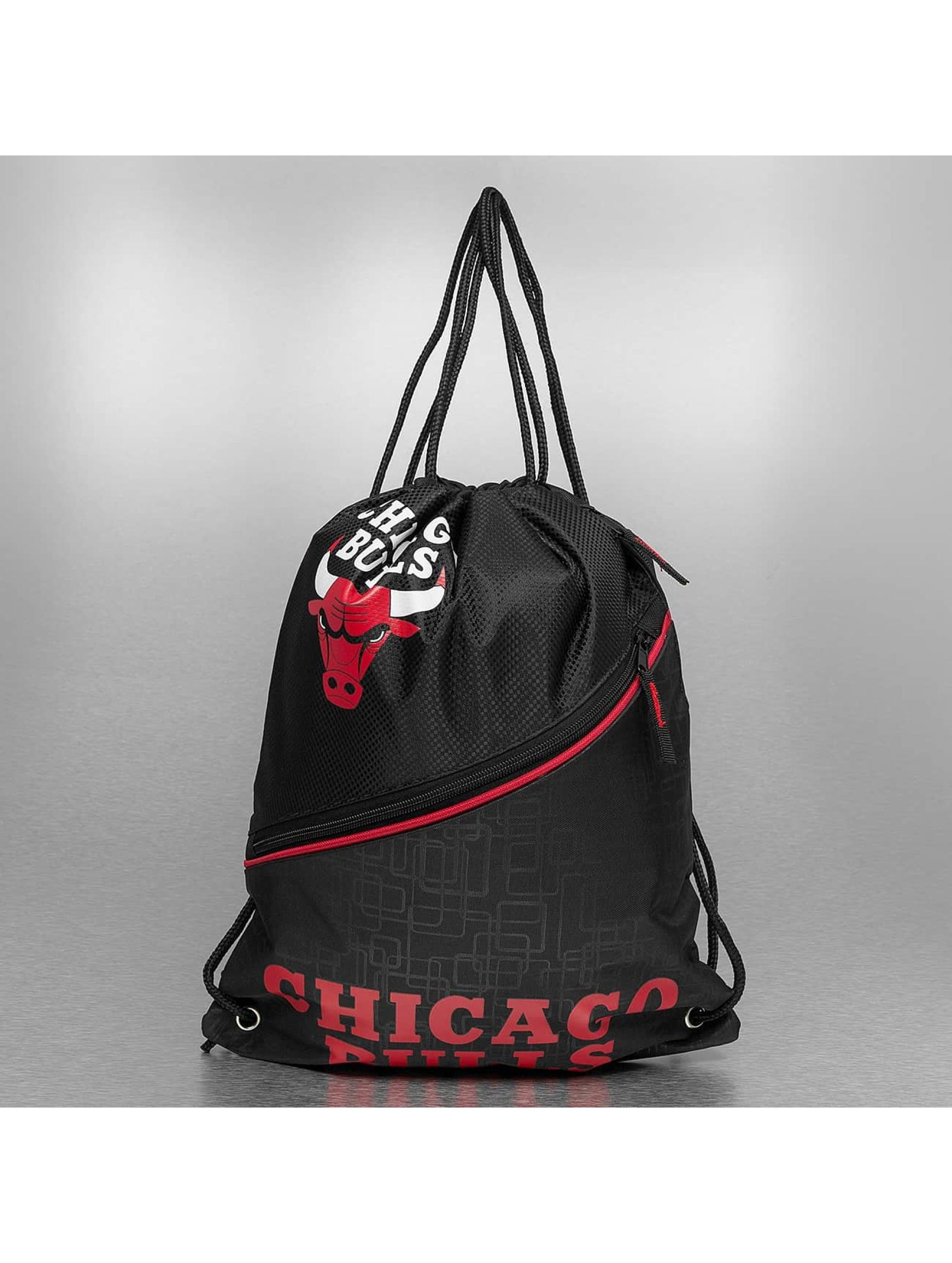 Forever Collectibles Beutel NBA Diagonal Zip Drawstring Chicago Bulls black