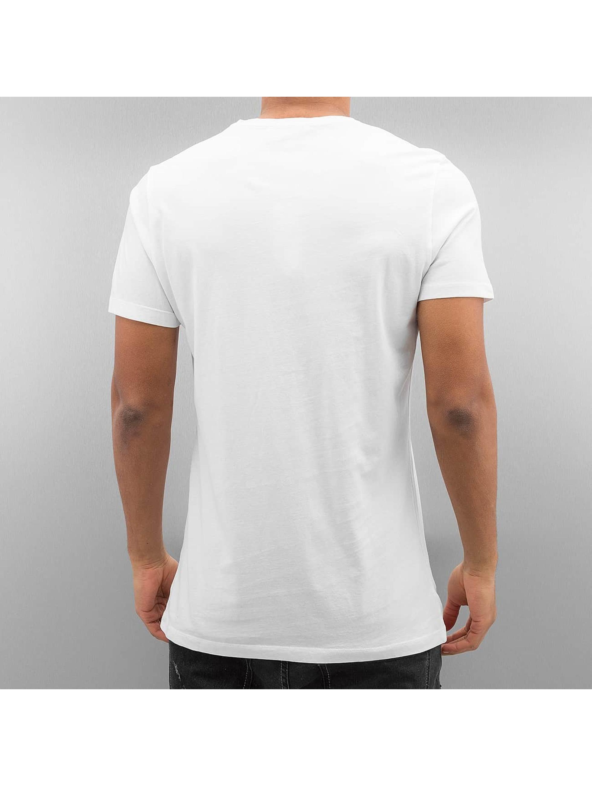 French Kick T-Shirt Popo Star white