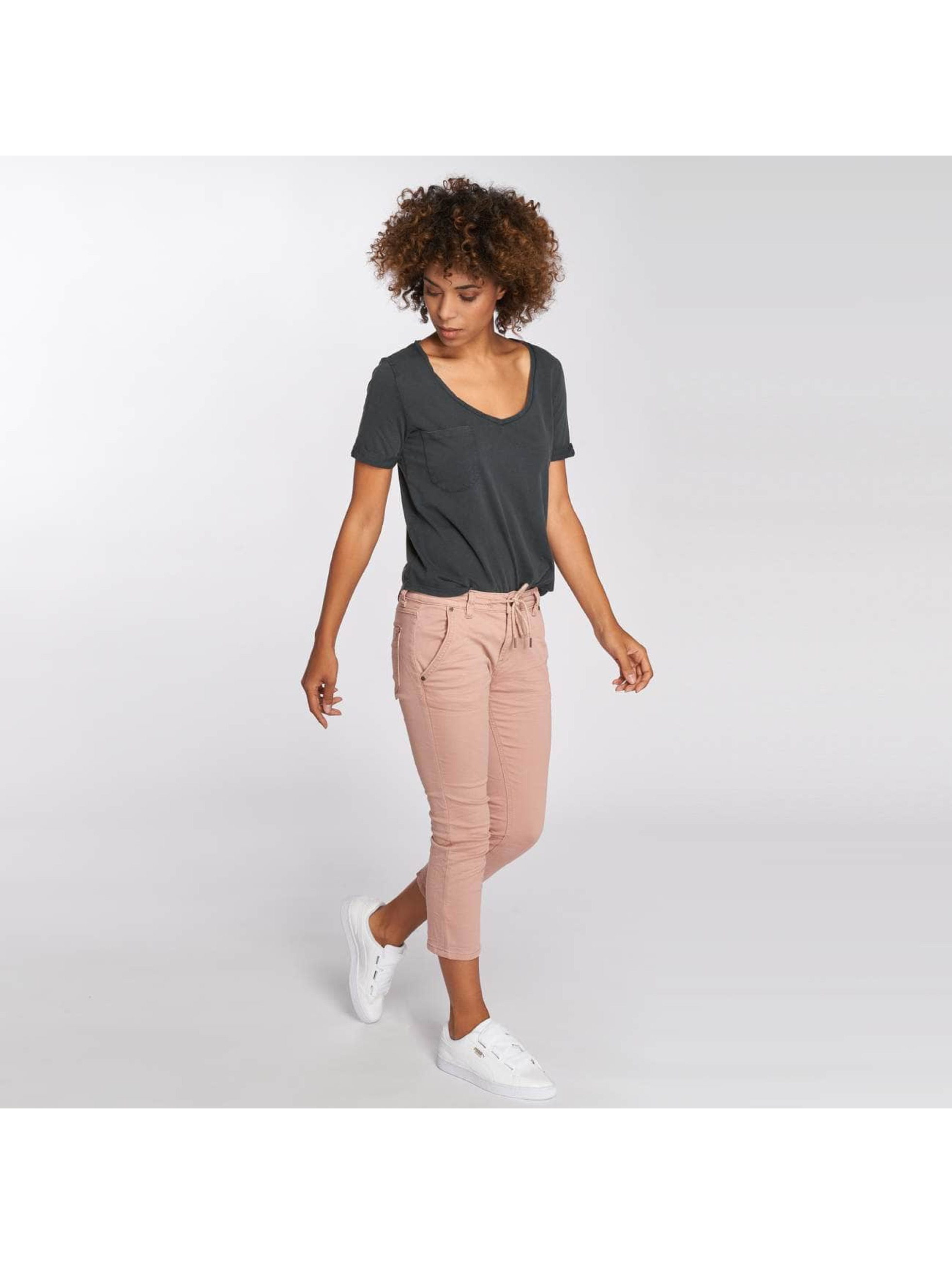 Fresh Made Sweat Pant Capri Jogg rose