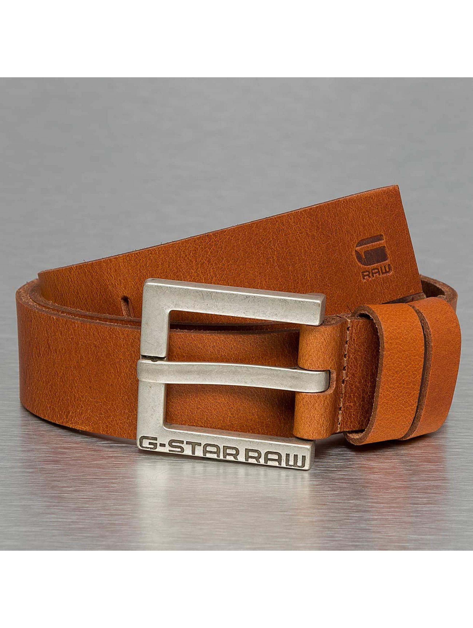 G-Star Belt Duko Cuba Leather brown