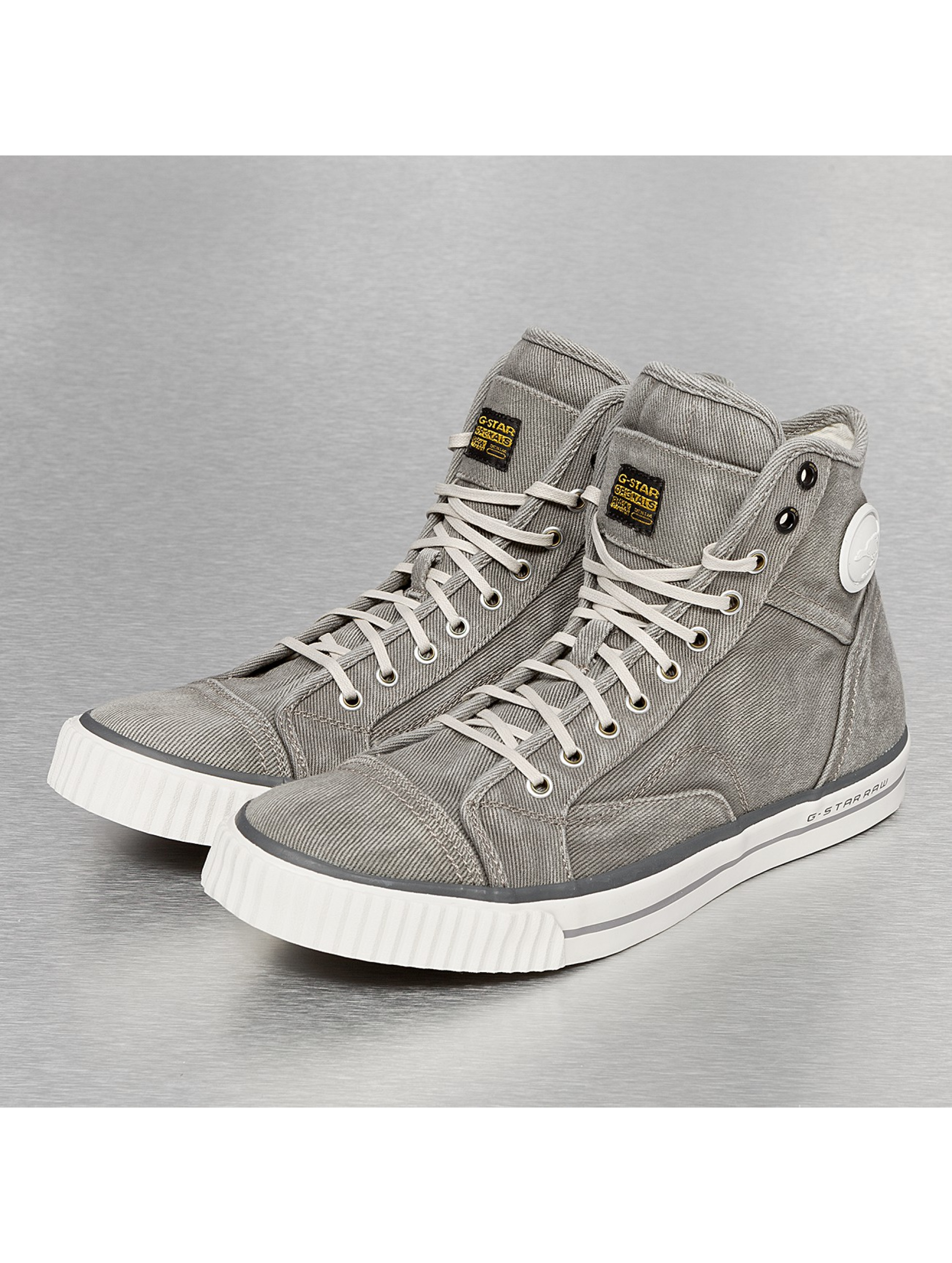 g star footwear sneaker campus raw scott in grau 186727. Black Bedroom Furniture Sets. Home Design Ideas