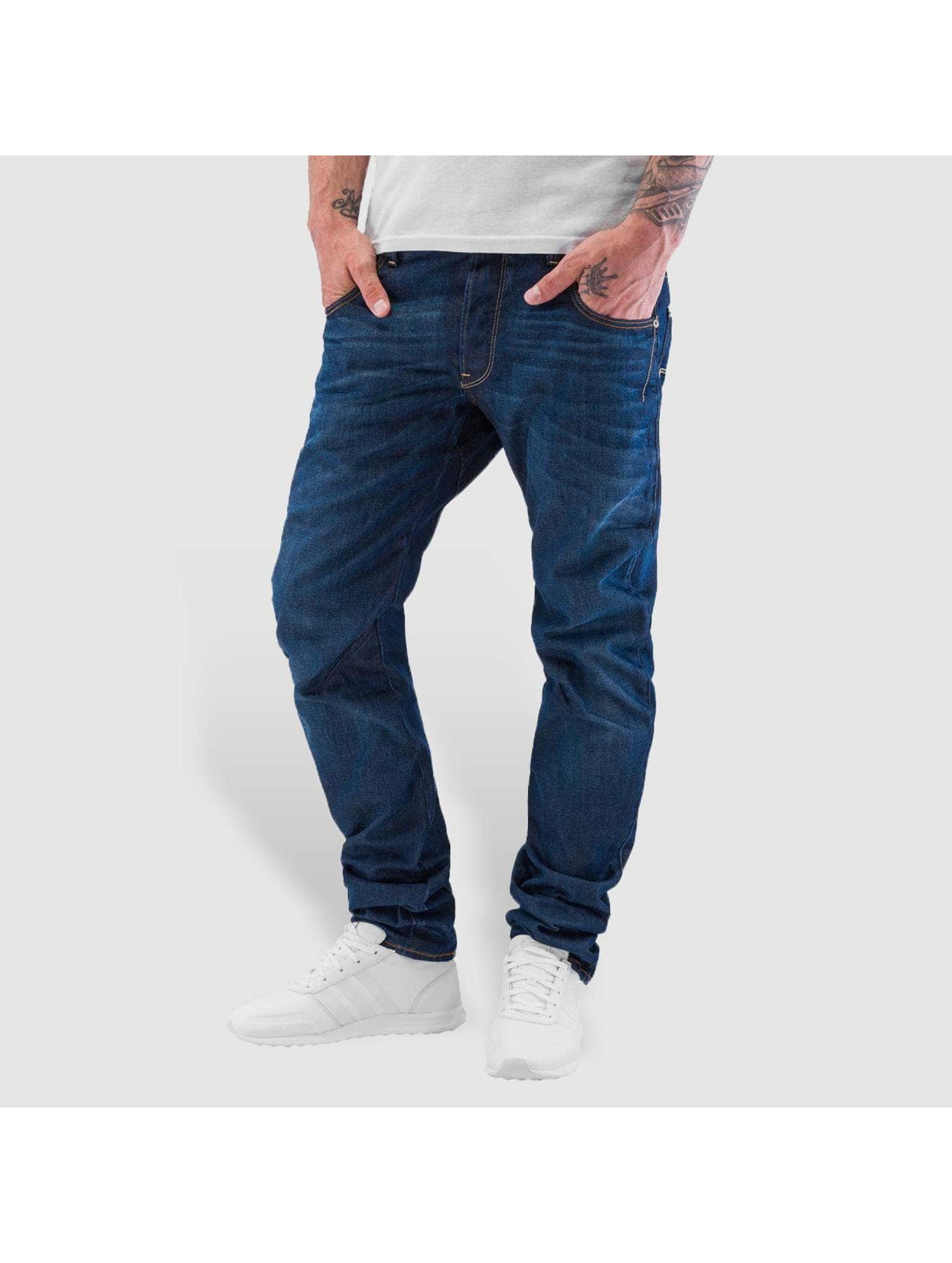 g star arc 3d slim bleu homme jean carotte antifit g. Black Bedroom Furniture Sets. Home Design Ideas