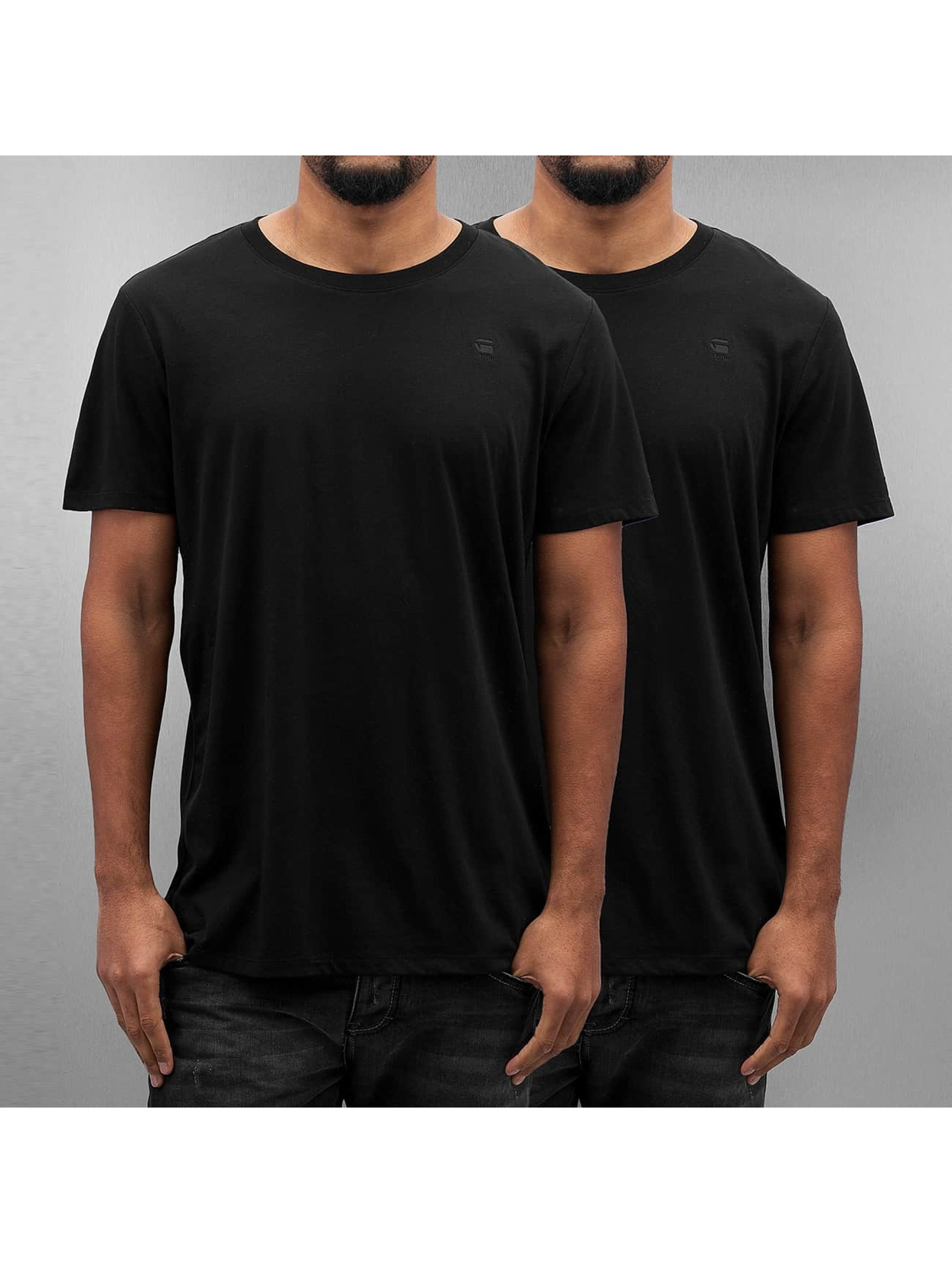G-Star T-Shirt Base 2er Pack black