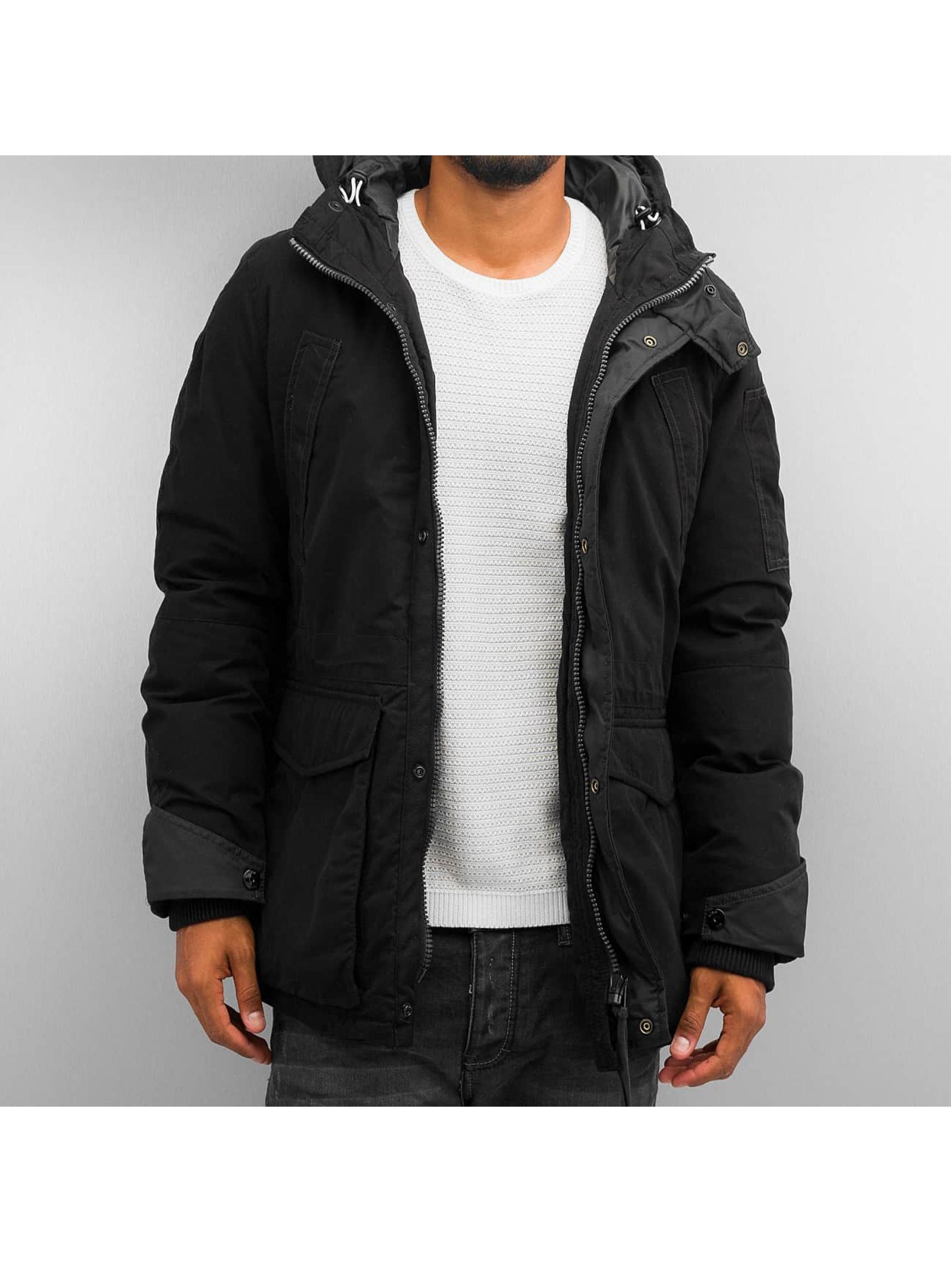 g star veste blouson veste d 39 hiver expedic en noir 283366. Black Bedroom Furniture Sets. Home Design Ideas