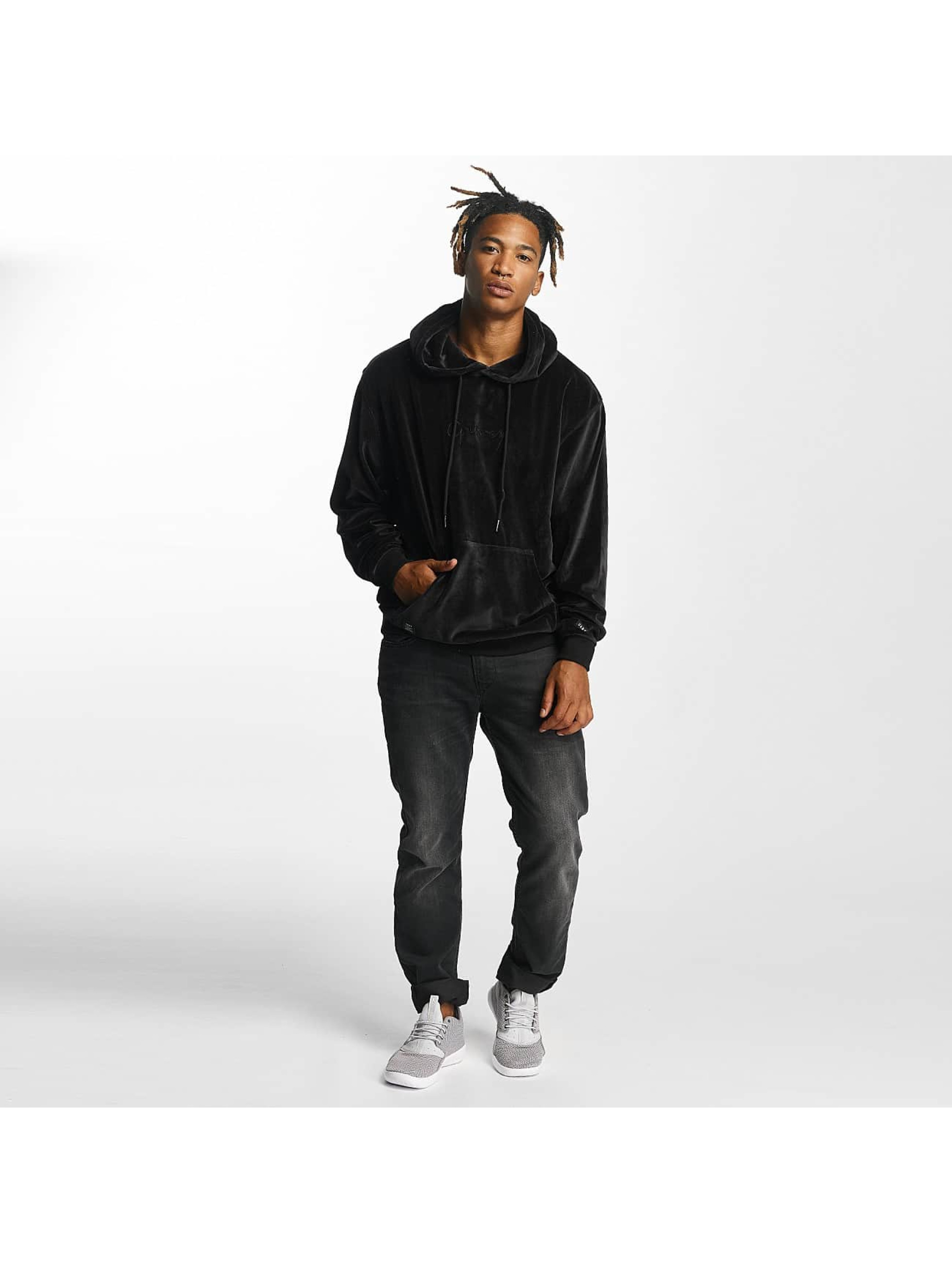 Grimey Wear Hoodie Natural Velour black