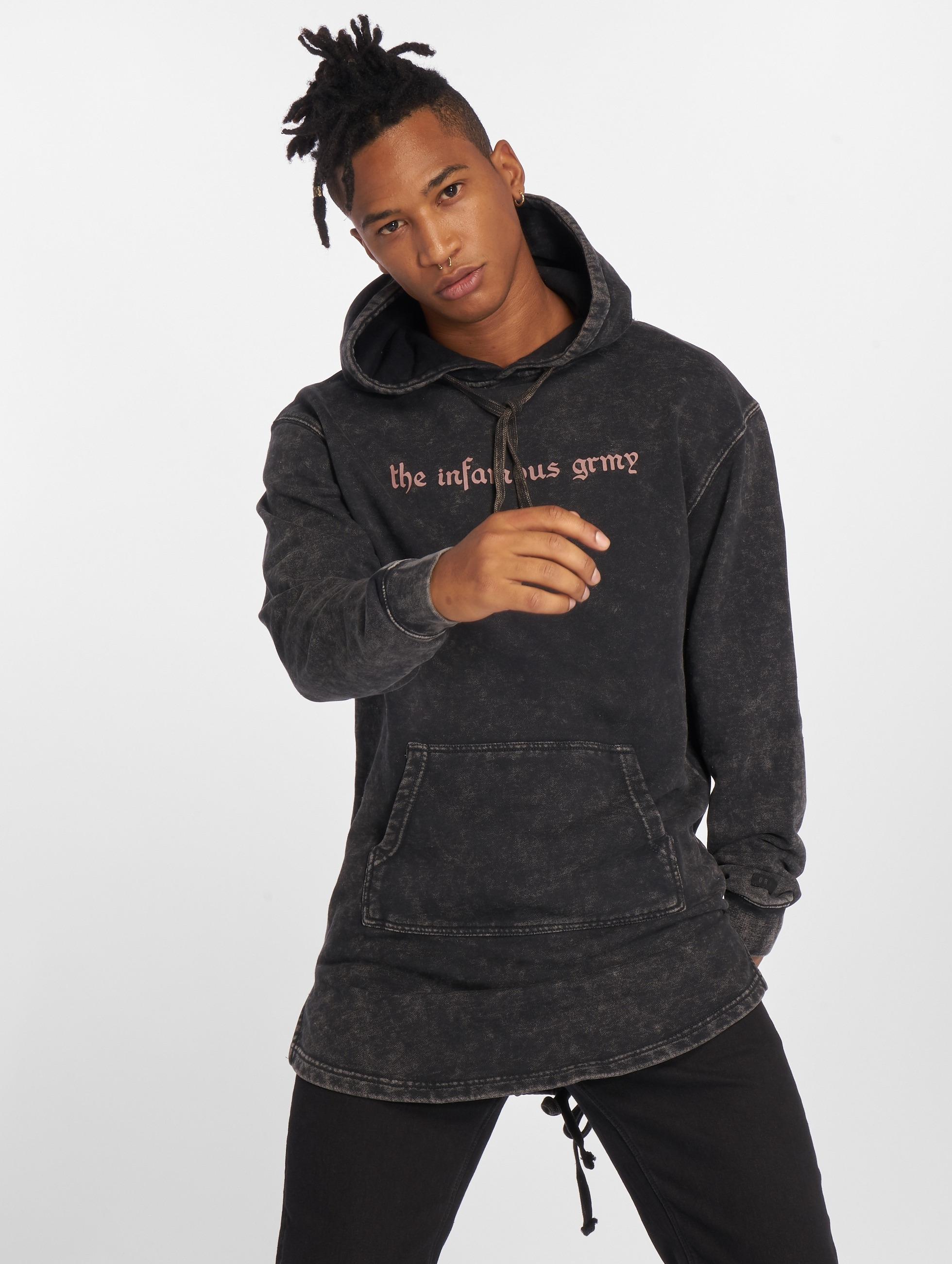 Grimey Wear Hoodie Hi Jack Long black