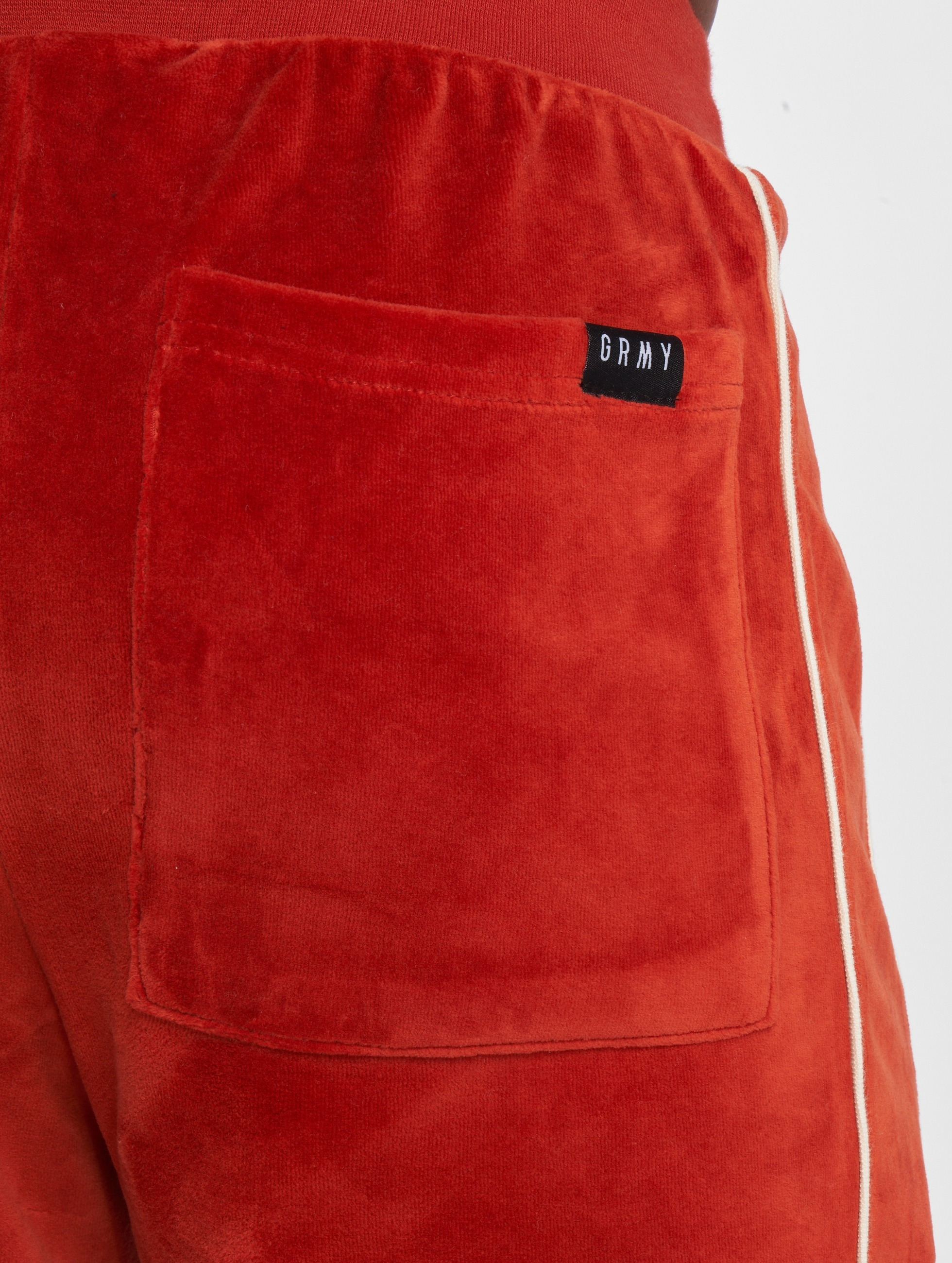 Grimey Wear Sweat Pant The Payback red
