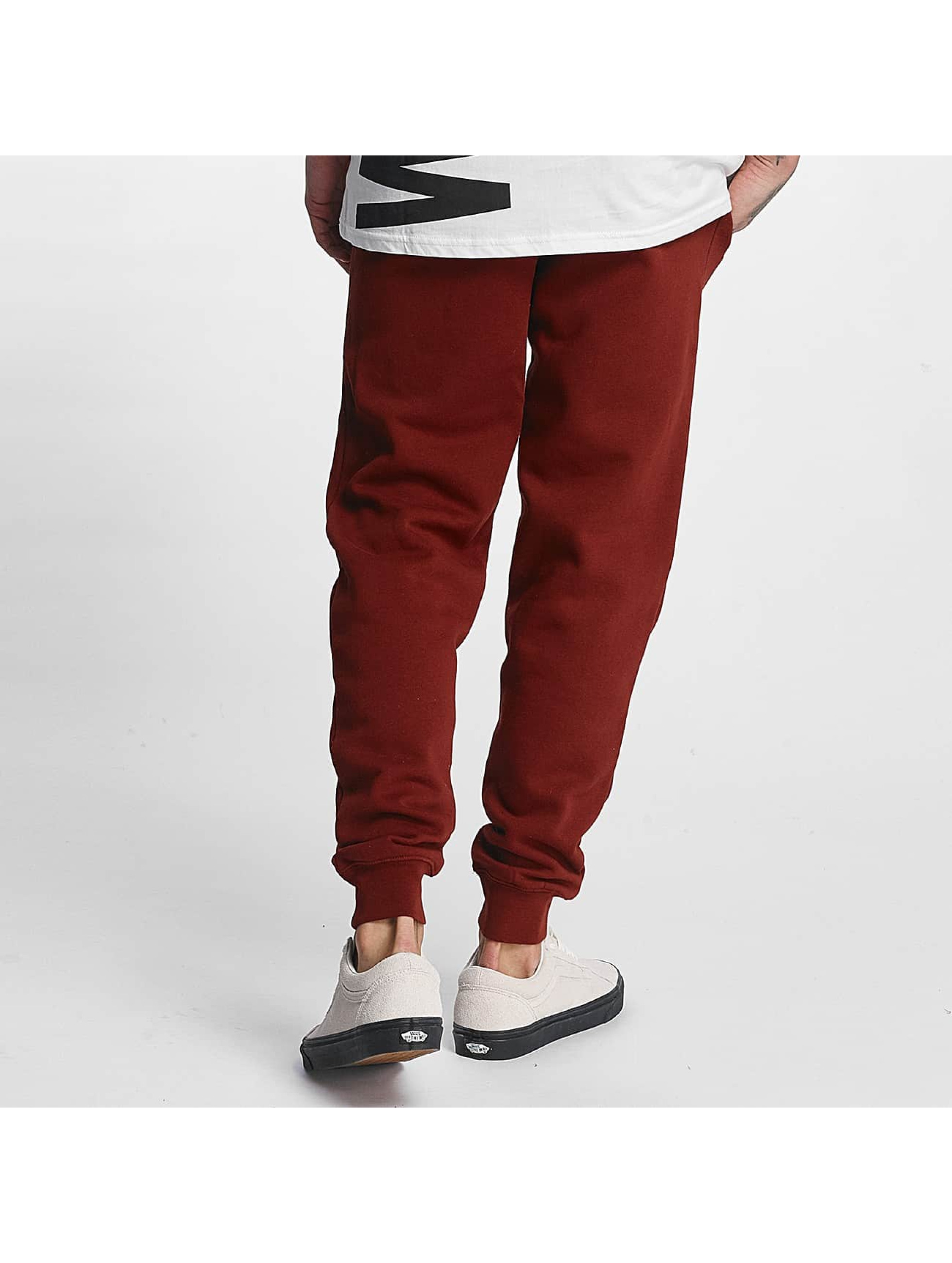 Grimey Wear Sweat Pant Overcome Gravity red