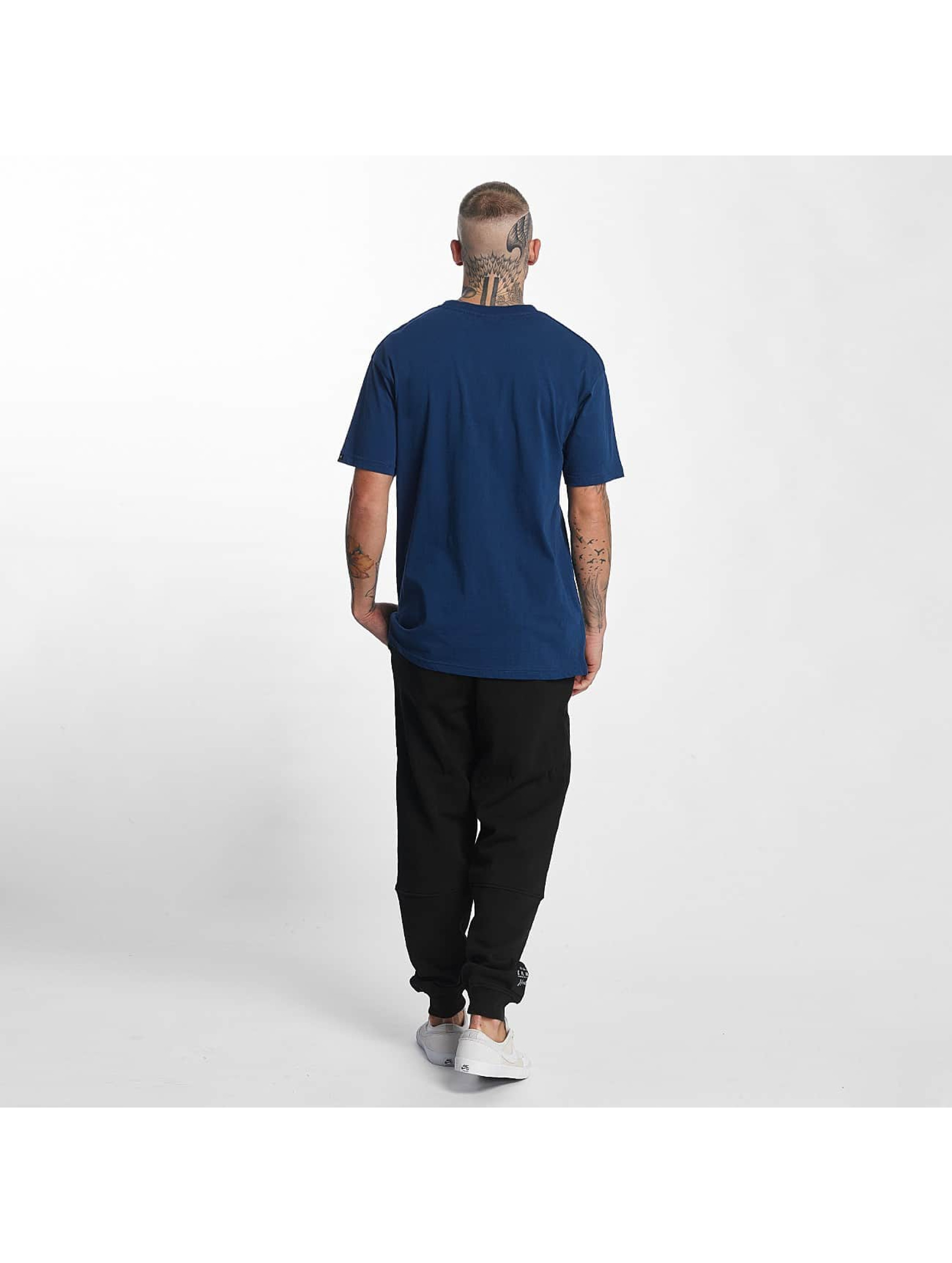 Grimey Wear T-Shirt The Lucy Pearl blue