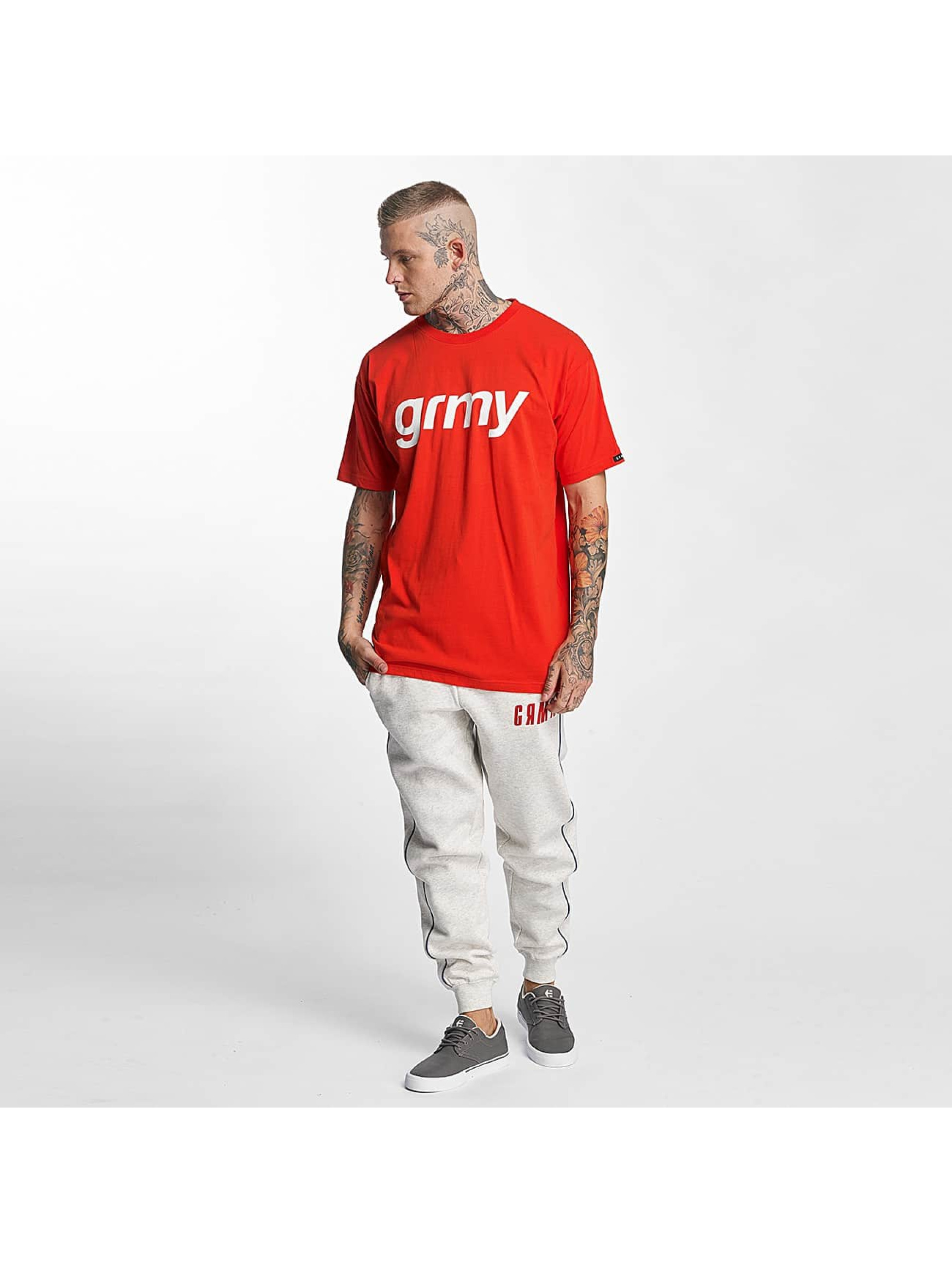 Grimey Wear T-Shirt The Lucy Pearl red