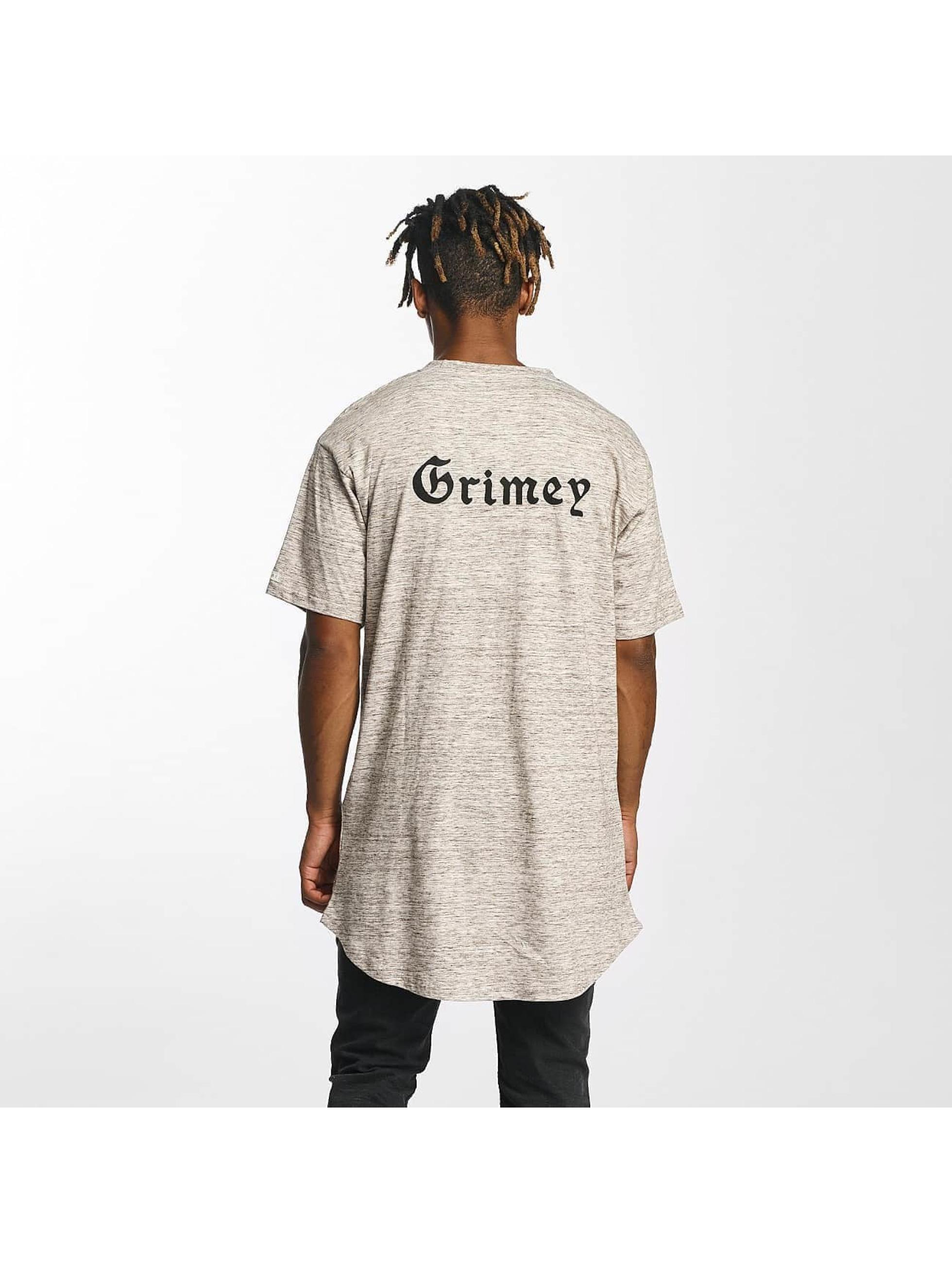 Grimey Wear Tall Tees Hi Jack Curvy Long brown