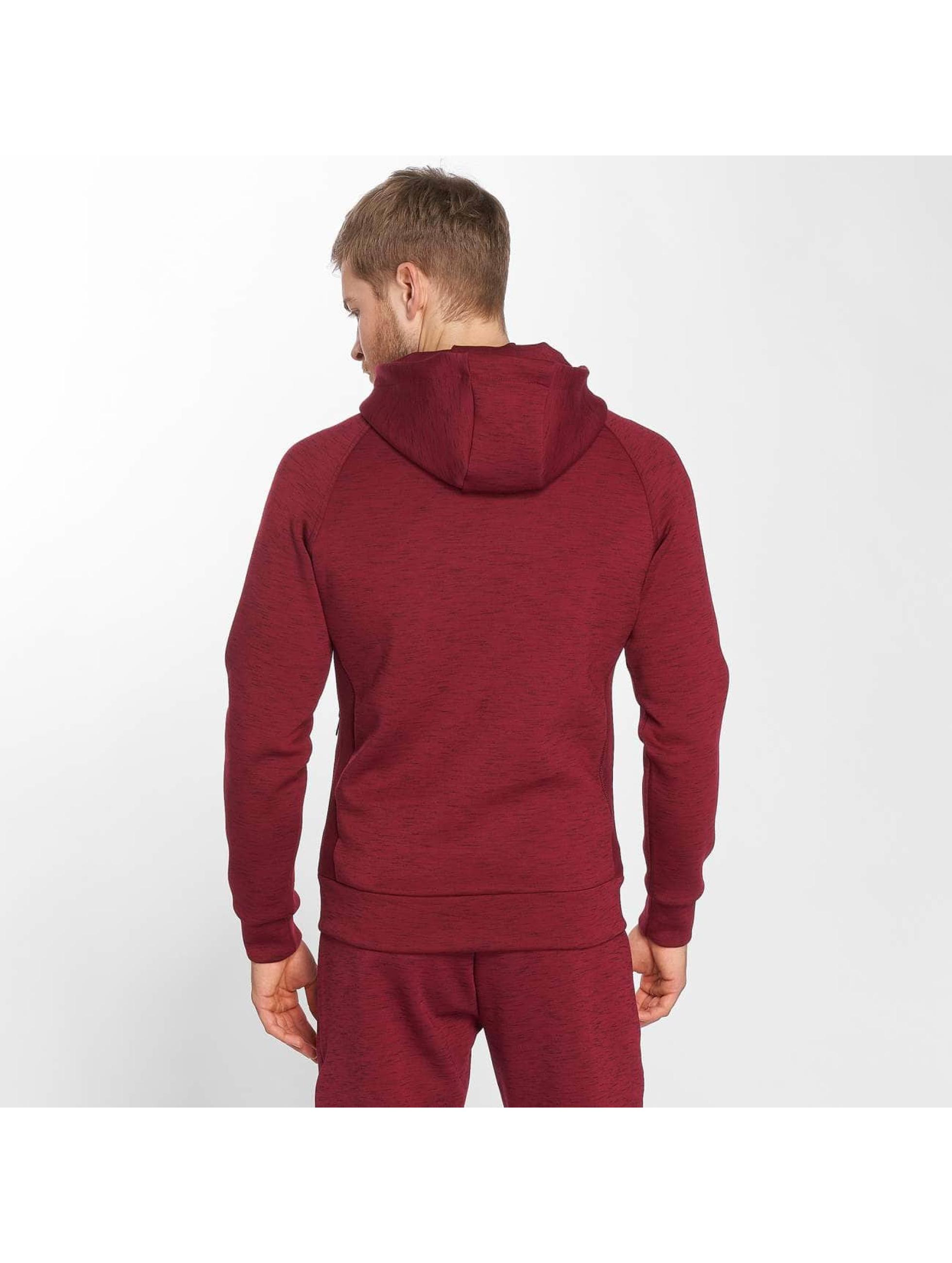 GymCodes Zip Hoodie Athletic-Fit red
