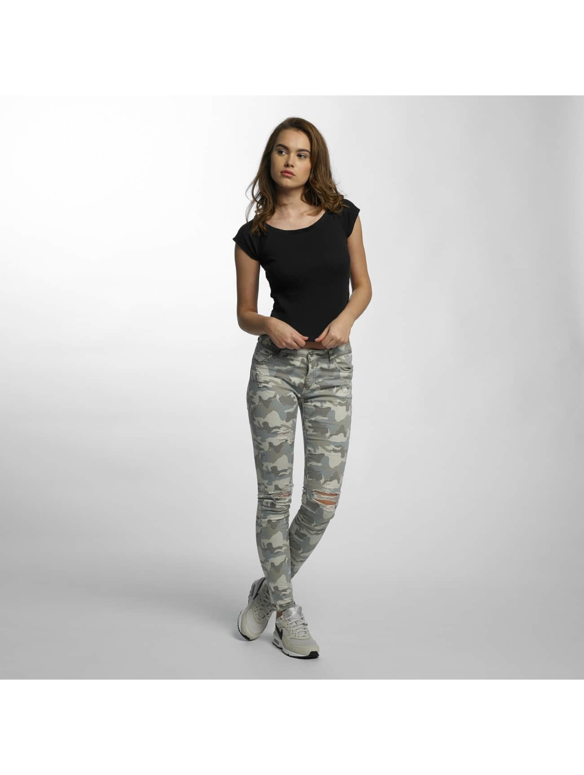 Hailys Skinny Jeans Cami camouflage