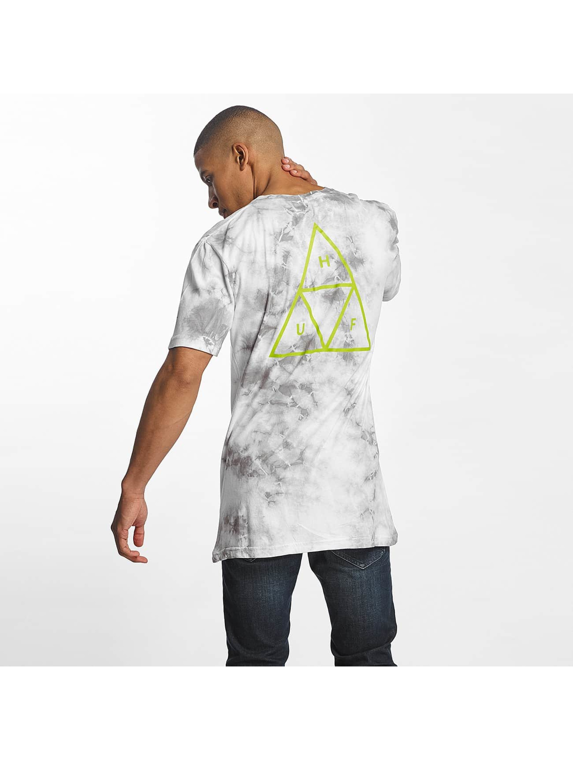 HUF T-Shirt Washed Triple Triangle gray