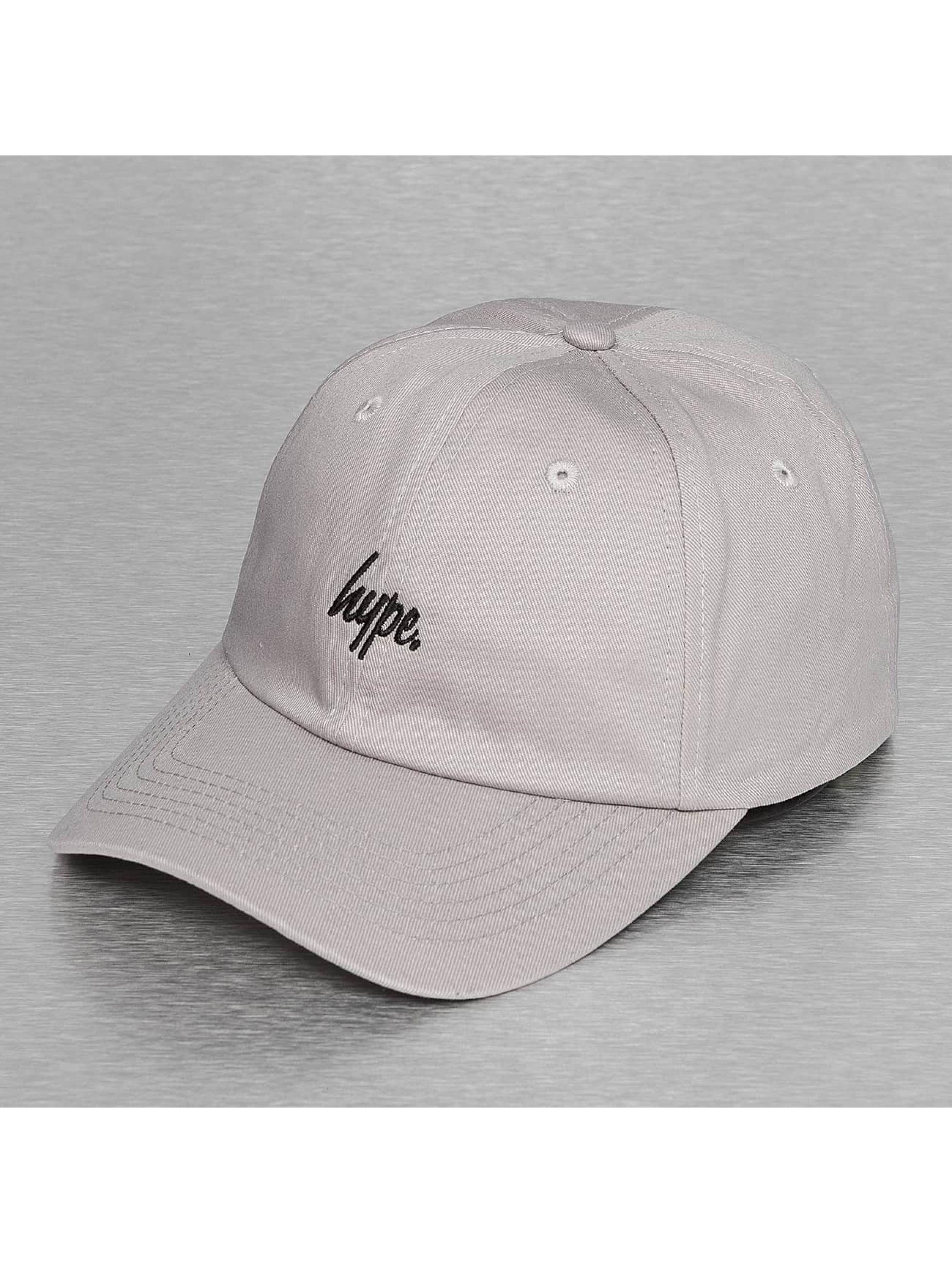 date de sortie 16a95 bfd02 HYPE Script Dat Hat Snapback Cap Grey/Black
