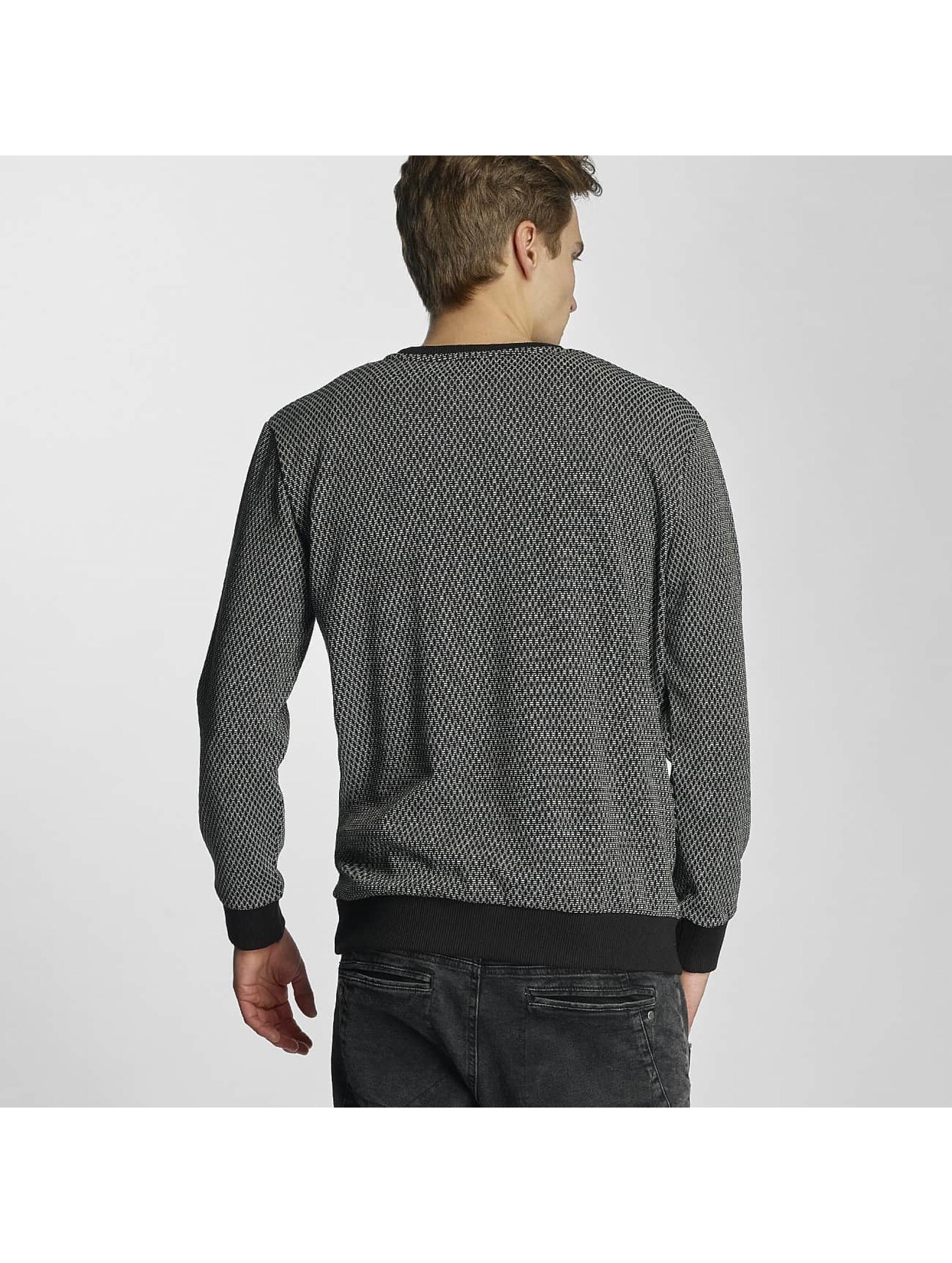 HYPE Pullover Aliminium black