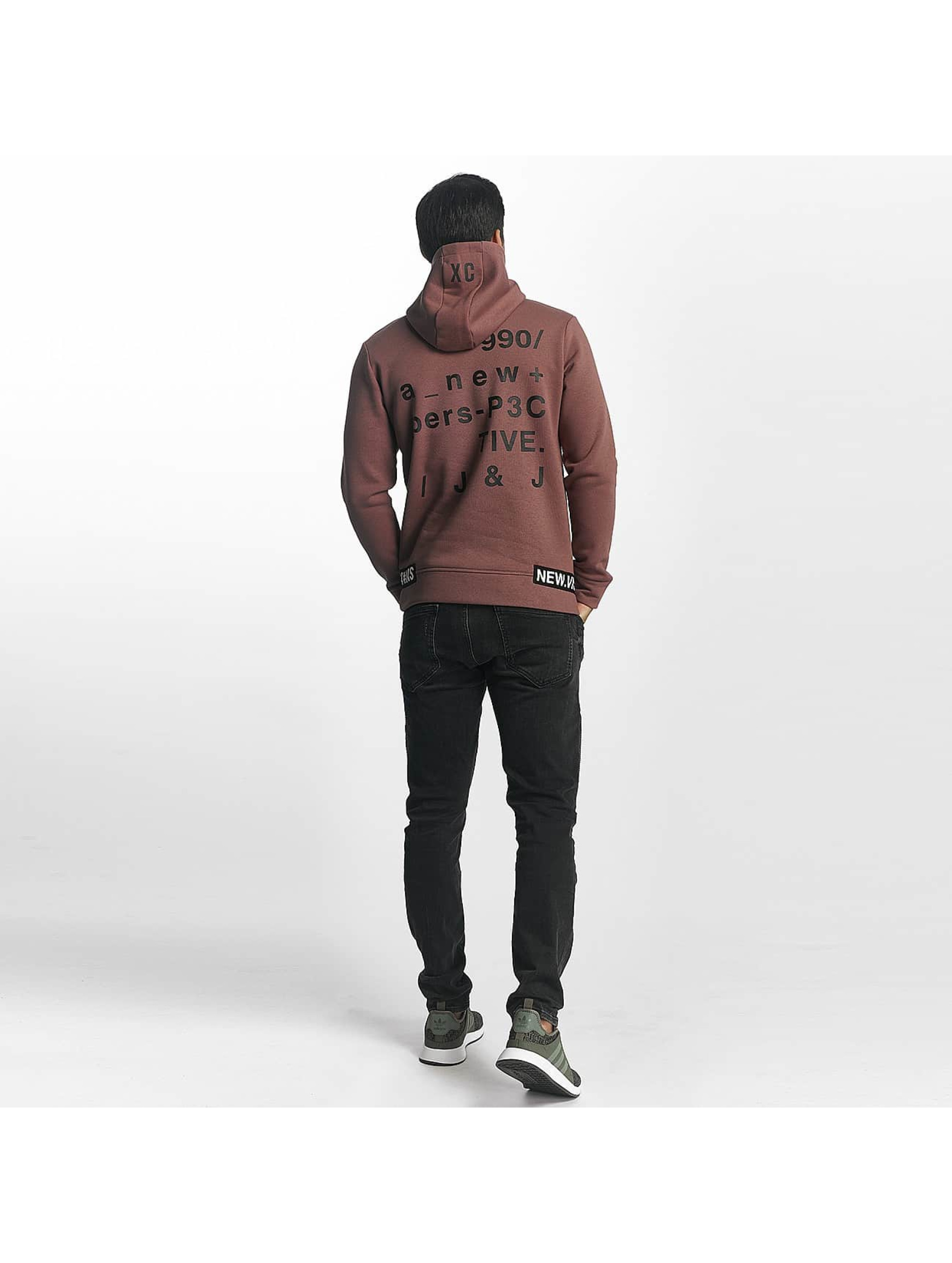 Jack & Jones Hoodie jcoDimension rose