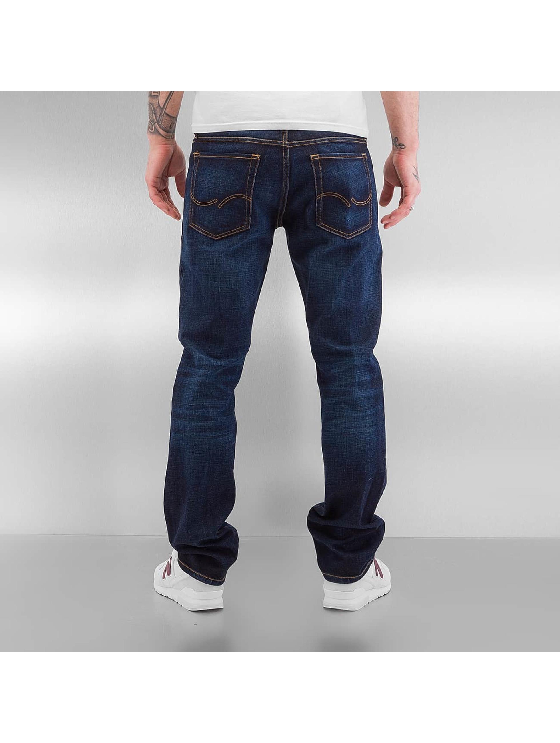 Jack & Jones Straight Fit Jeans jjiClark jjOriginal blue