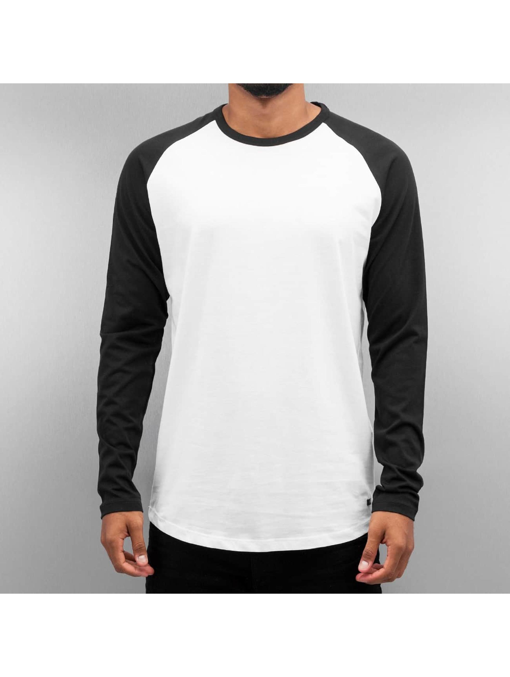 Jack   Jones Haut   T-Shirt manches longues jjorStan en blanc 293058 53e4909bd1fc