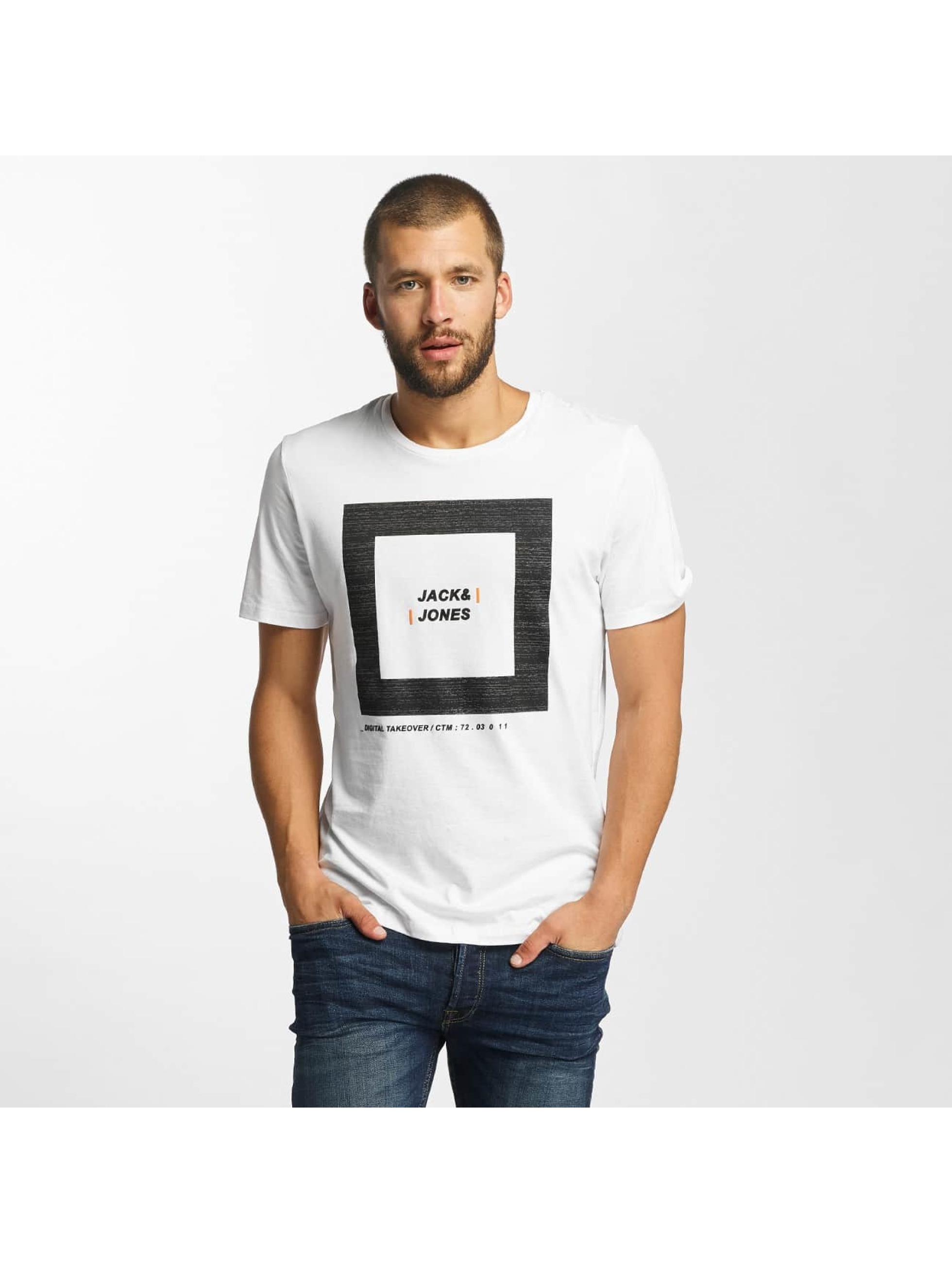 Jack & Jones T-Shirt jcoCharge white