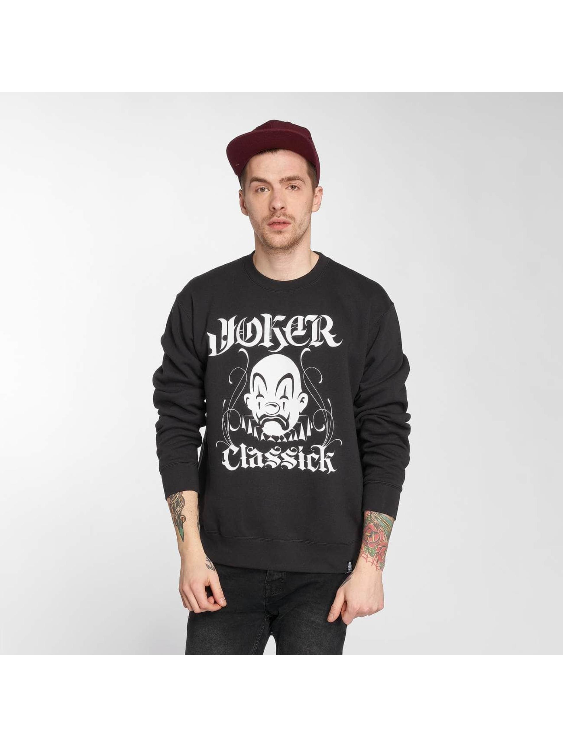 Joker Pullover Classick Clown black
