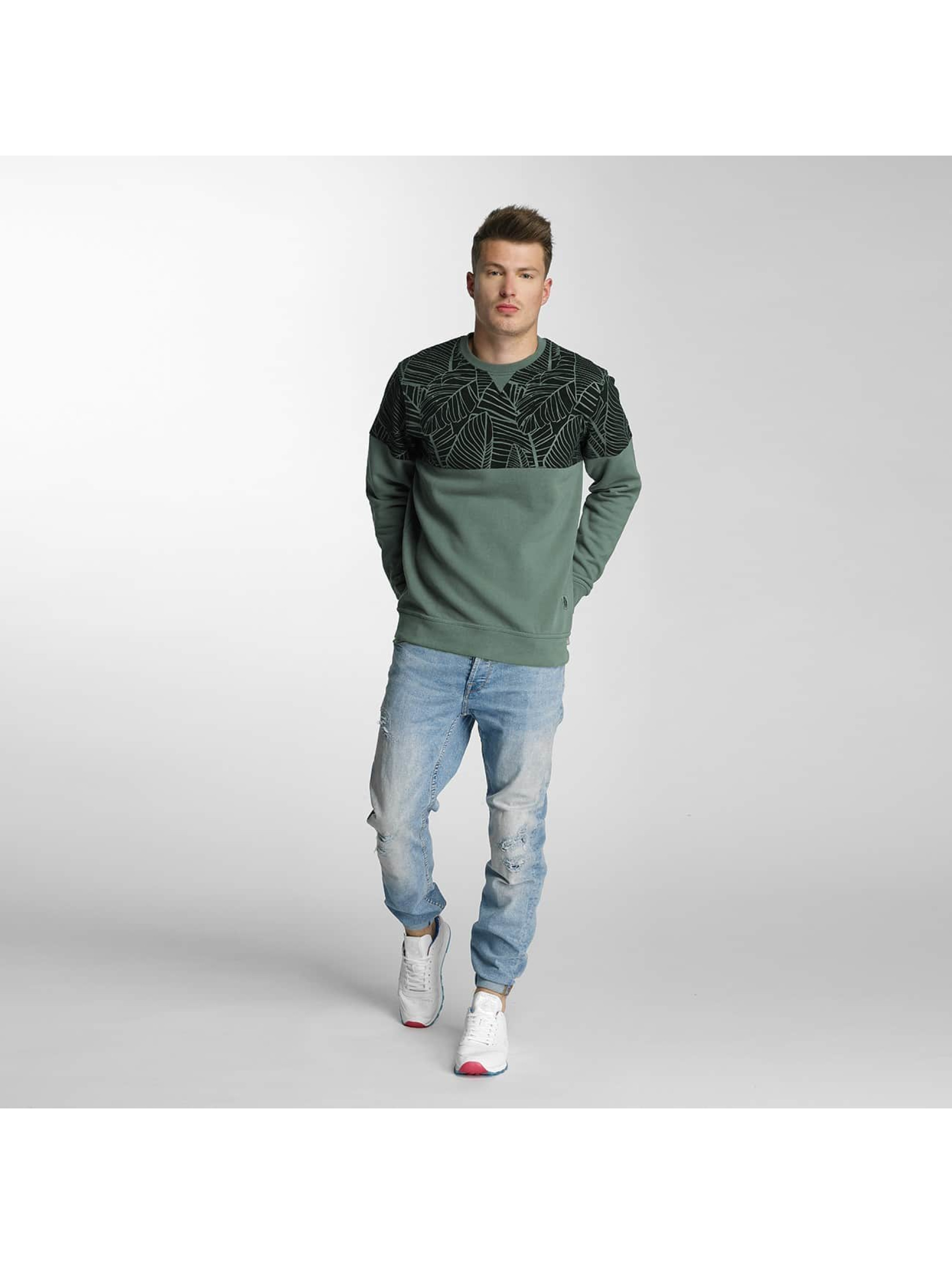 Just Rhyse Pullover Palms green