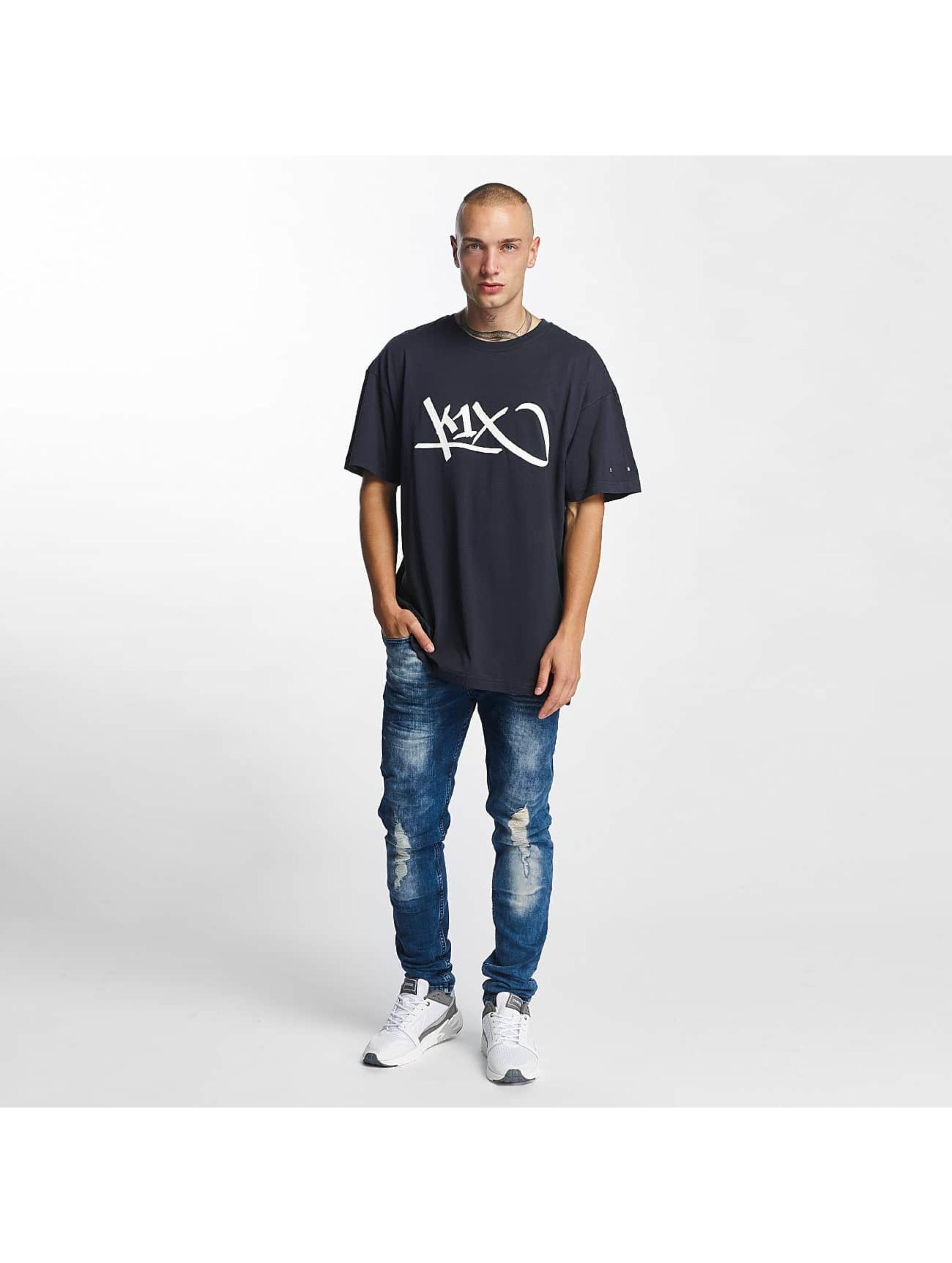 K1X T-Shirt Ivery Sports Tag blue