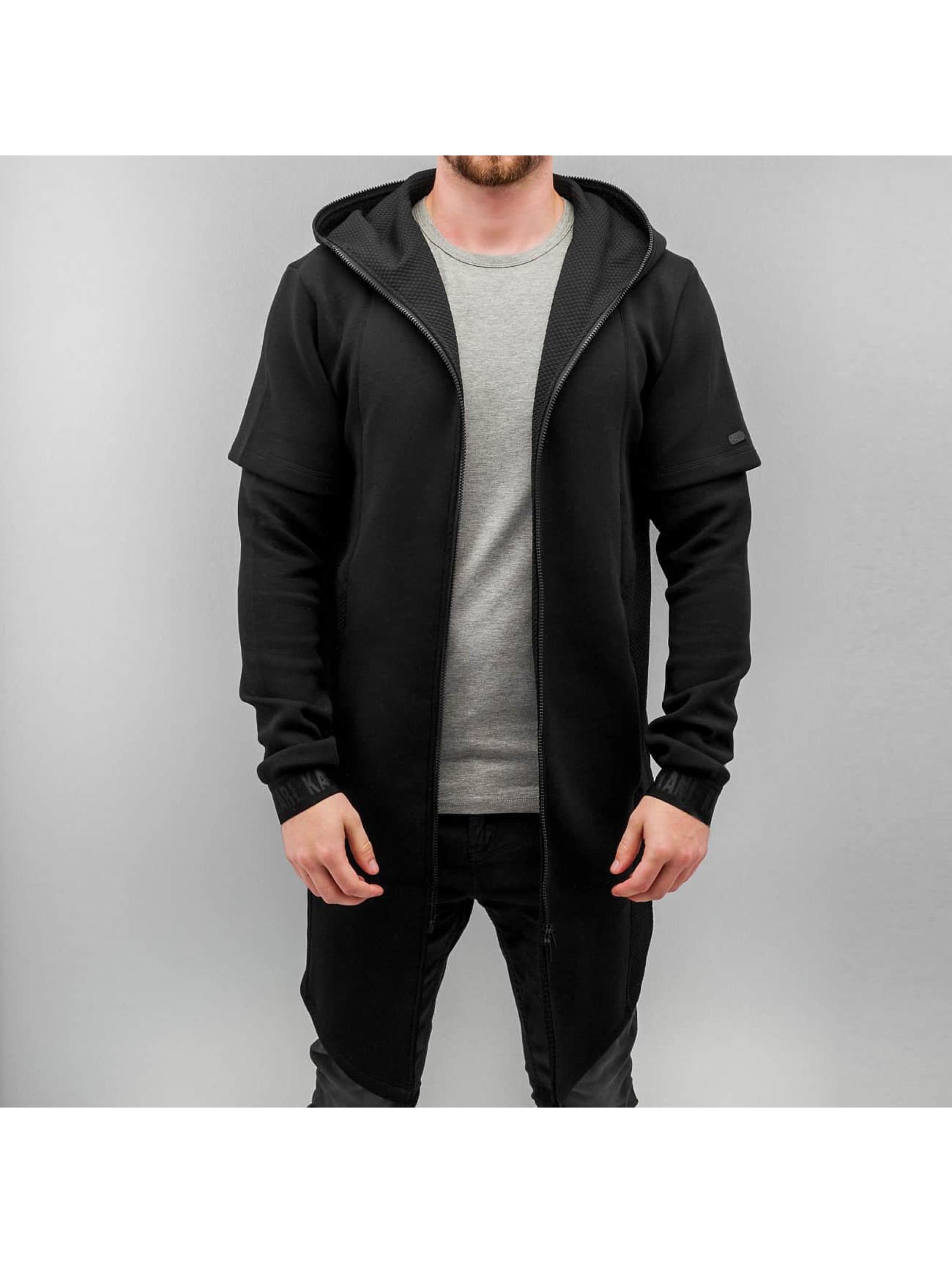 karl kani zip hoodie kkmaw1511 in schwarz 229151. Black Bedroom Furniture Sets. Home Design Ideas