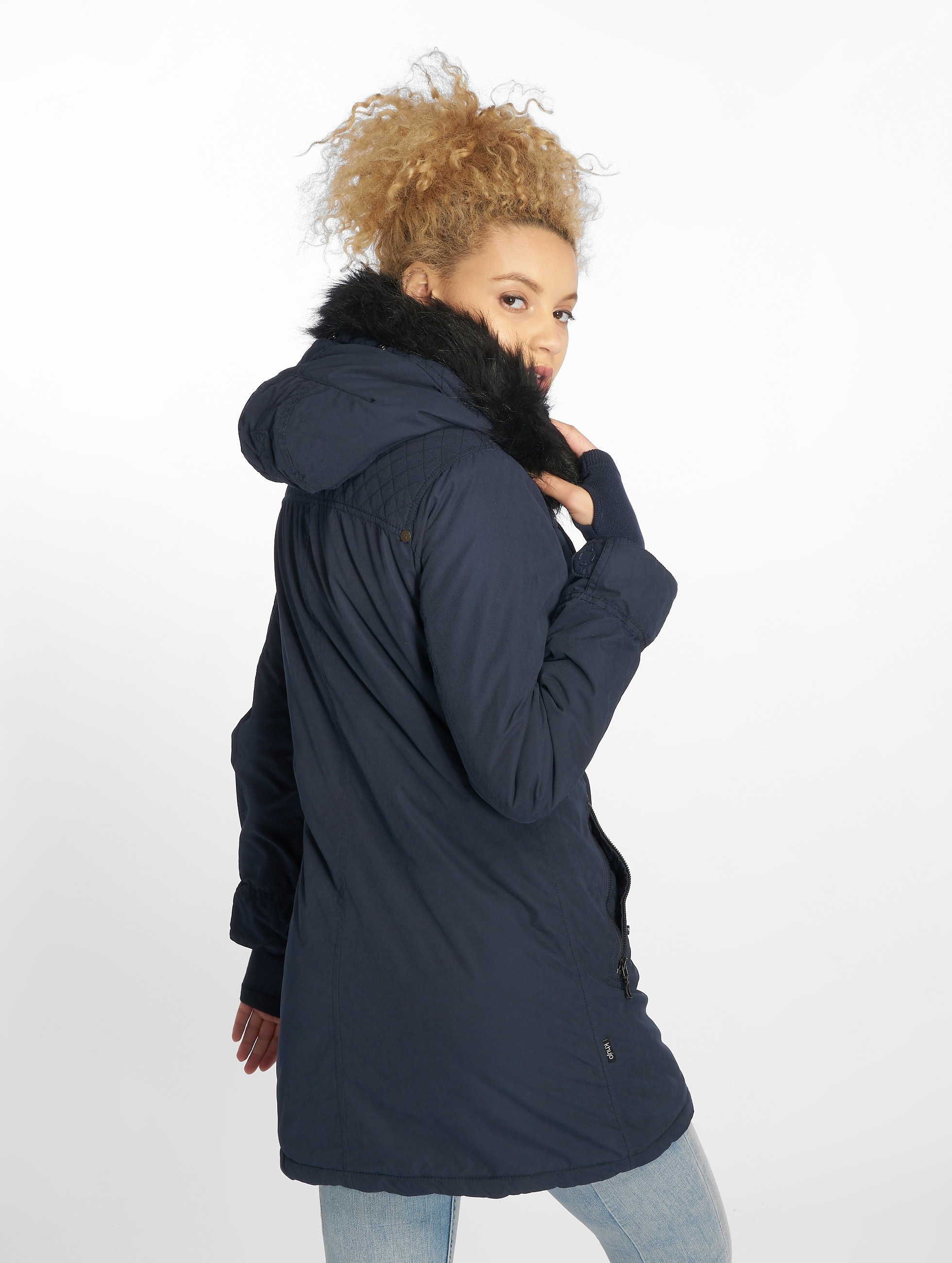 Khujo Lightweight Jacket Kourtney blue