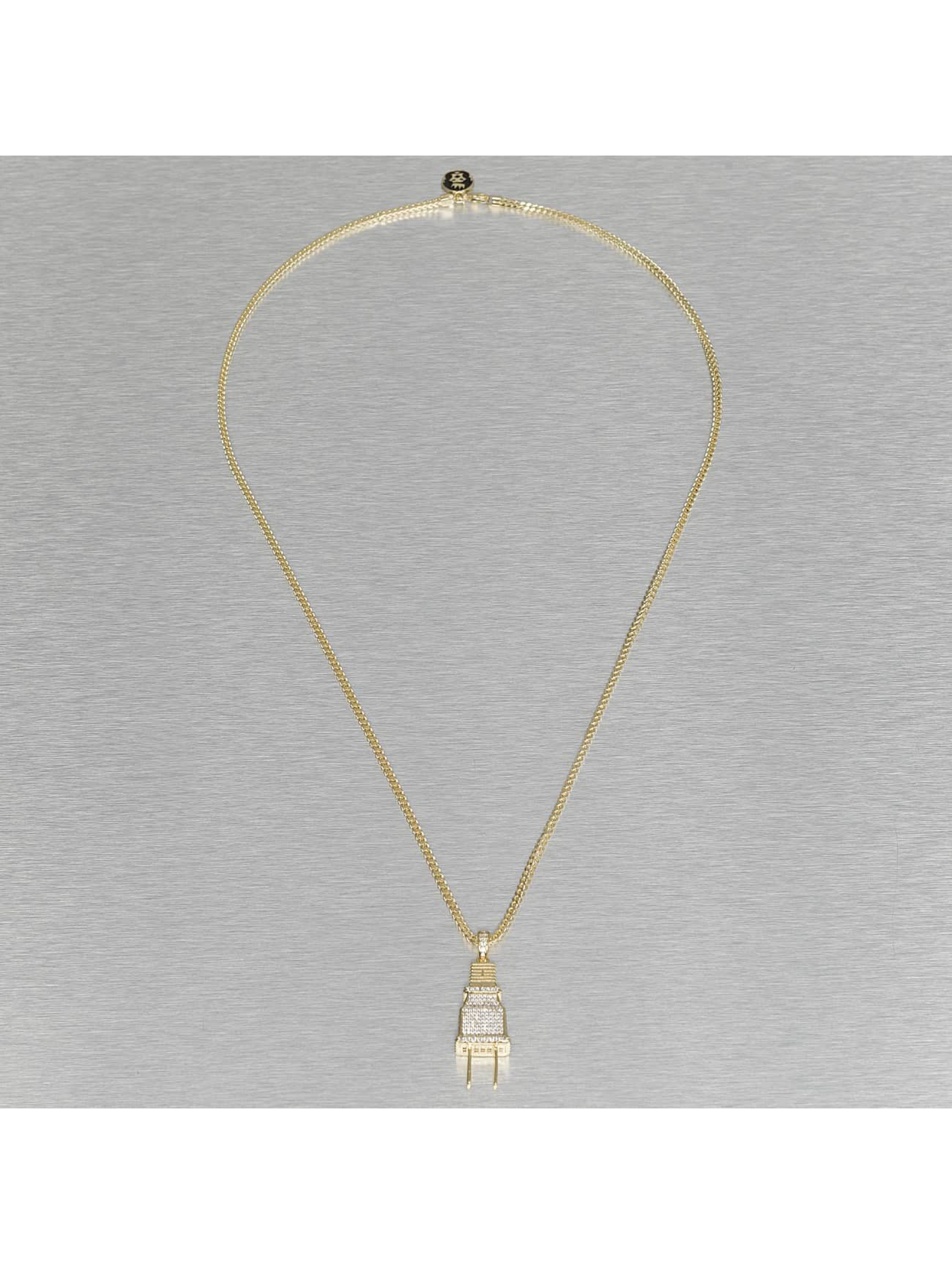 KING ICE Necklace Plug gold