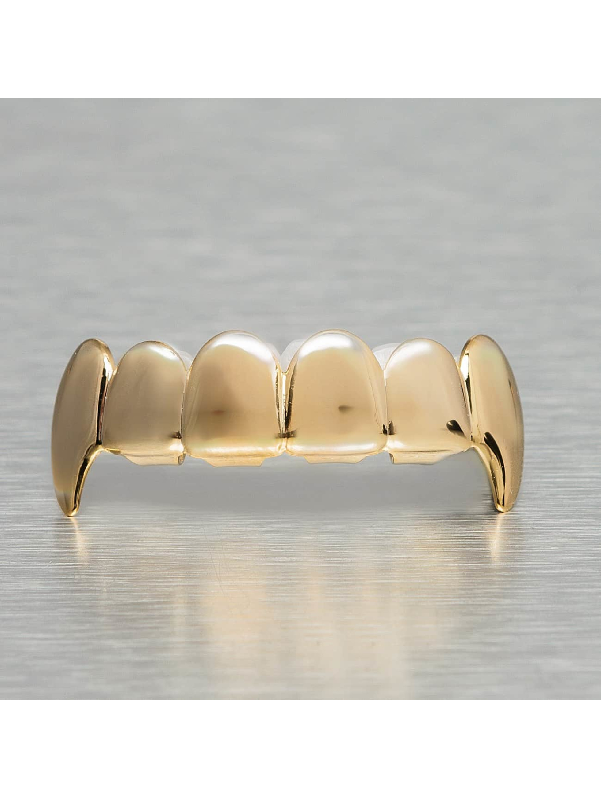 KING ICE Other Spiked Fangs gold