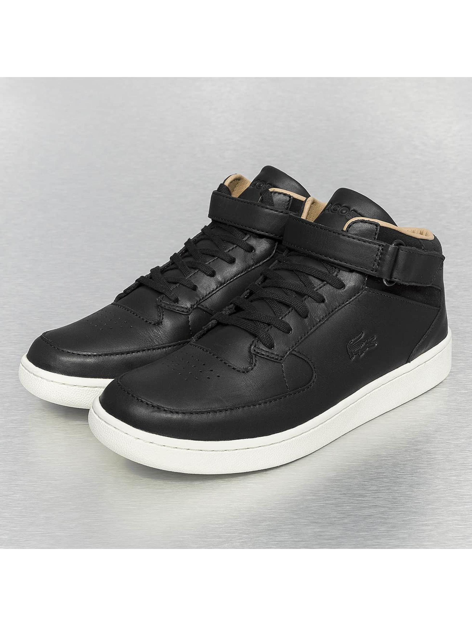 lacoste chaussures baskets turbo srm en noir 208246. Black Bedroom Furniture Sets. Home Design Ideas
