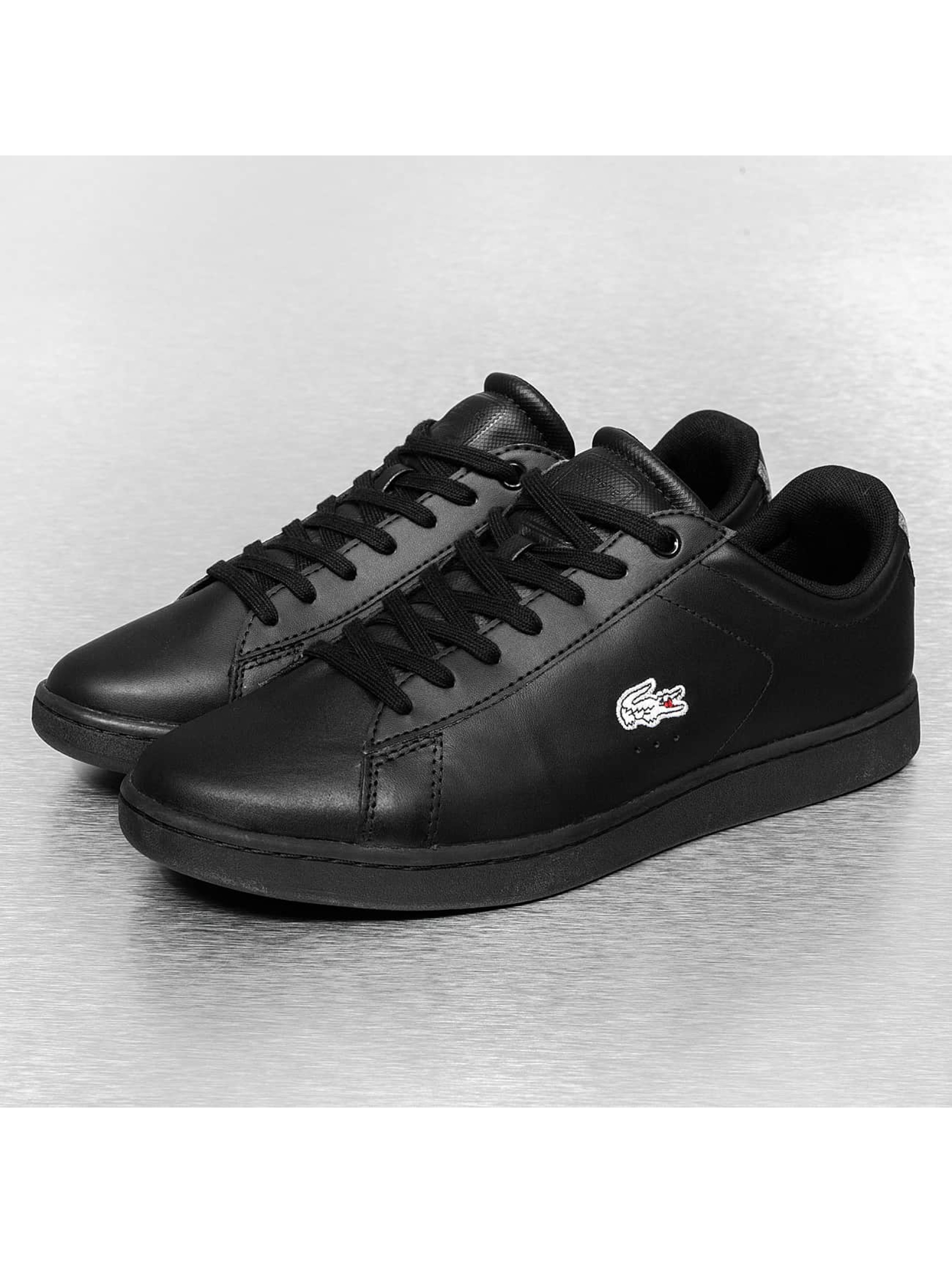 lacoste chaussures baskets carnaby evo wmp spm en noir 208266. Black Bedroom Furniture Sets. Home Design Ideas