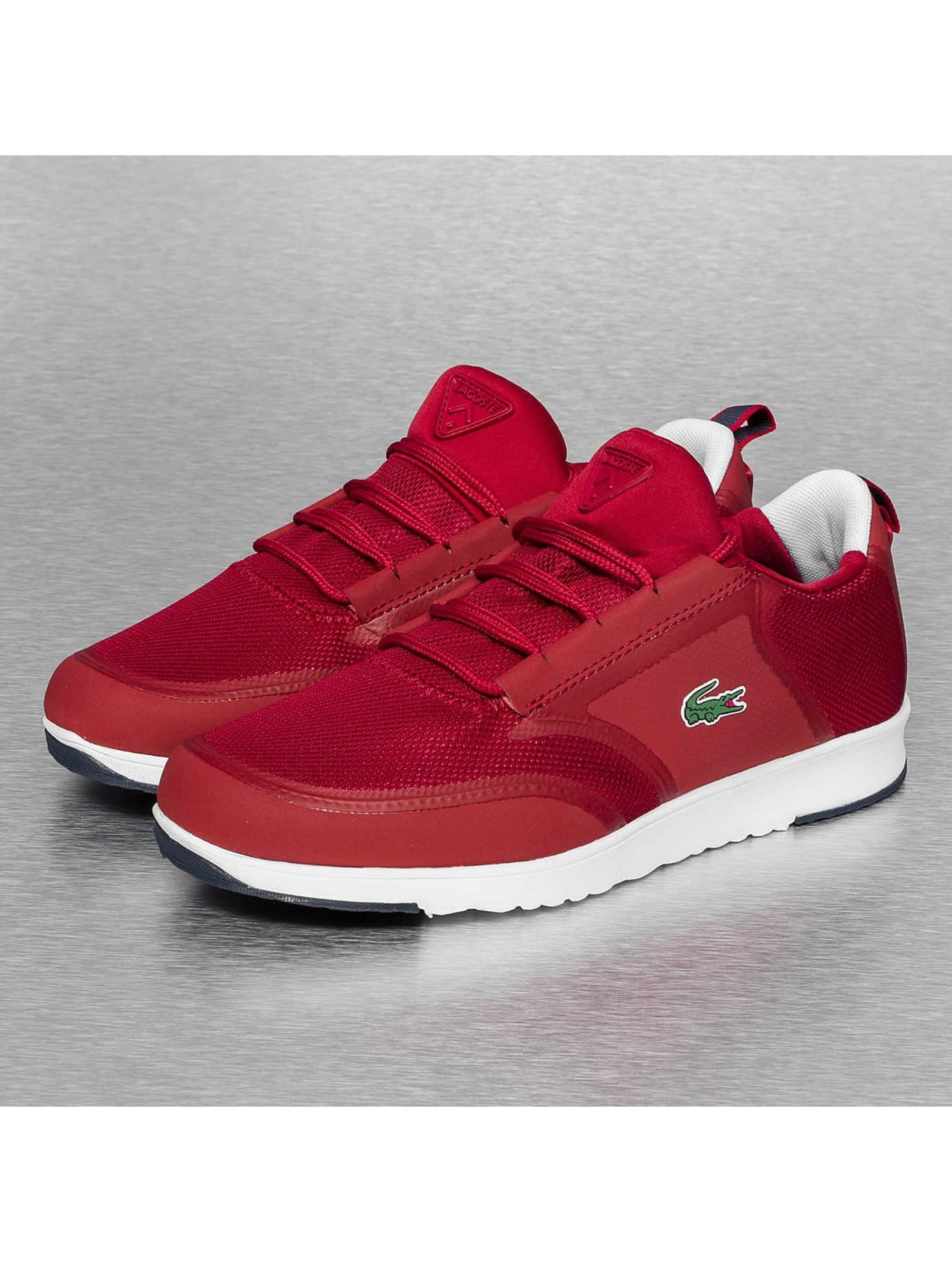 lacoste chaussures baskets light 116 en rouge 240663. Black Bedroom Furniture Sets. Home Design Ideas