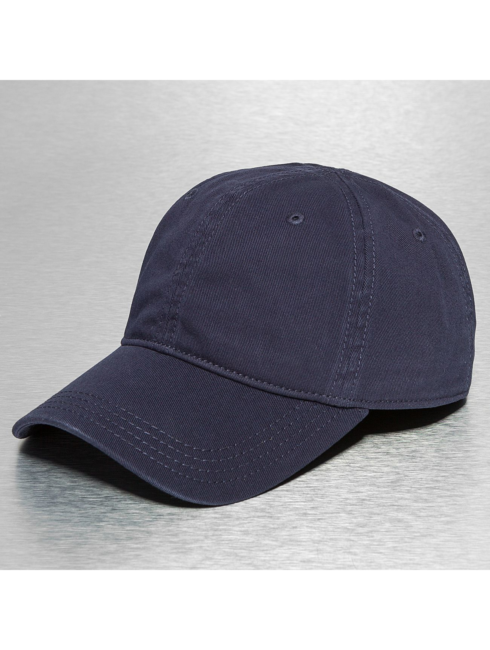 Lacoste Classic Snapback Cap Gabardine Croc Strapback Cap blue