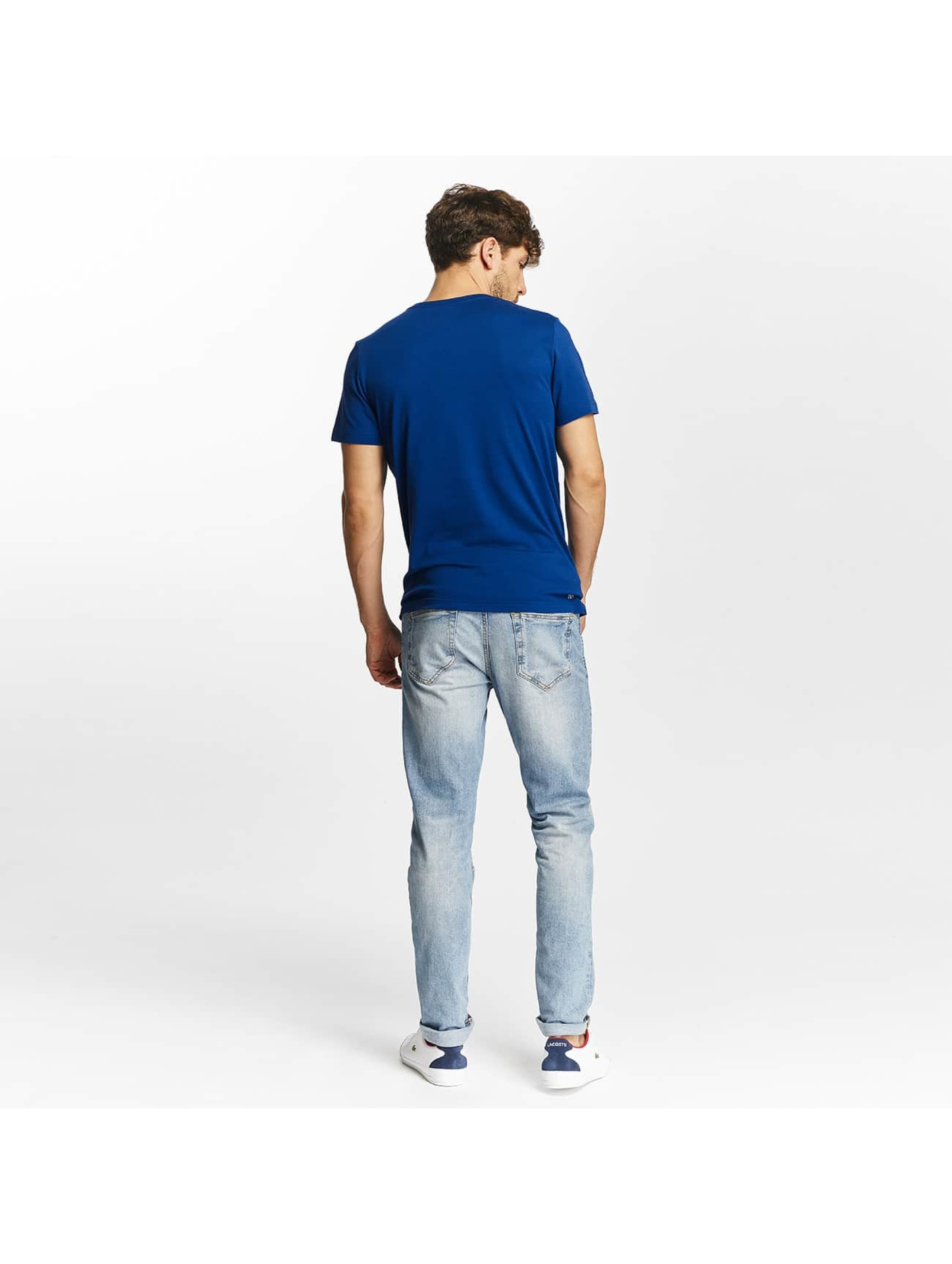 Lacoste Classic T-Shirt Kroko blue