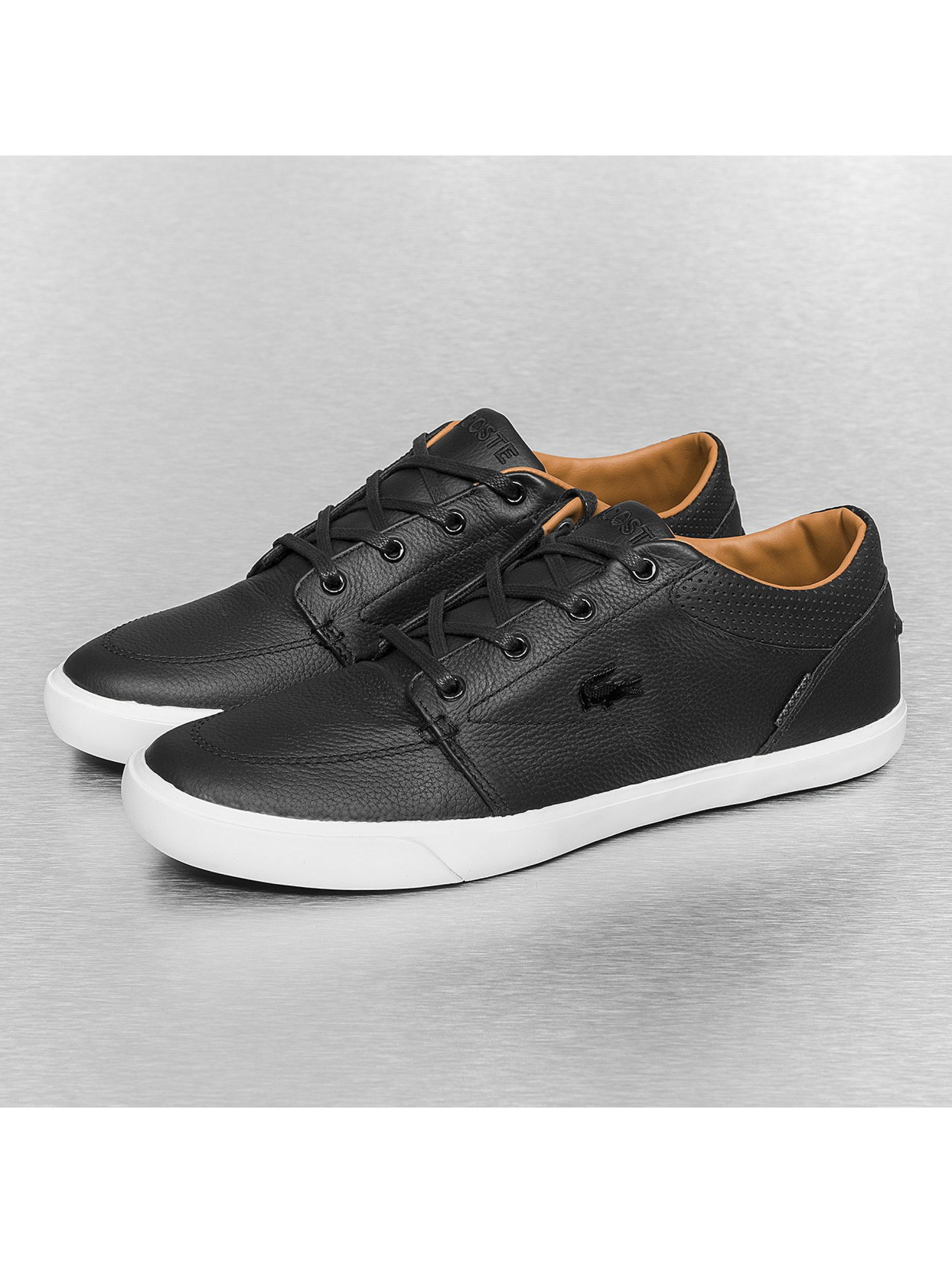 lacoste herren sneaker bayliss vulc prm us spm in schwarz. Black Bedroom Furniture Sets. Home Design Ideas