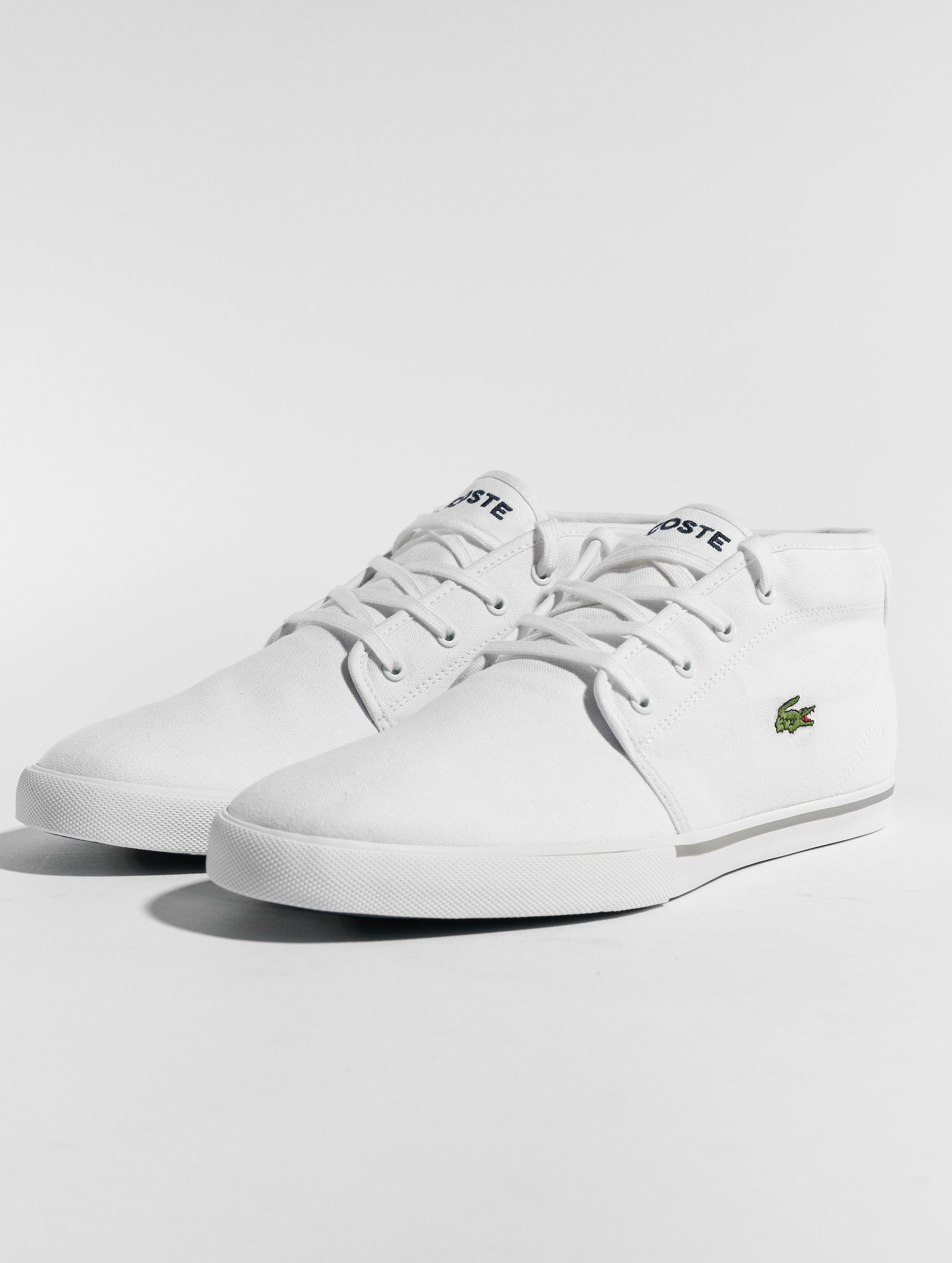 lacoste herren sneaker ampthill lcr2 spm in wei 169191. Black Bedroom Furniture Sets. Home Design Ideas