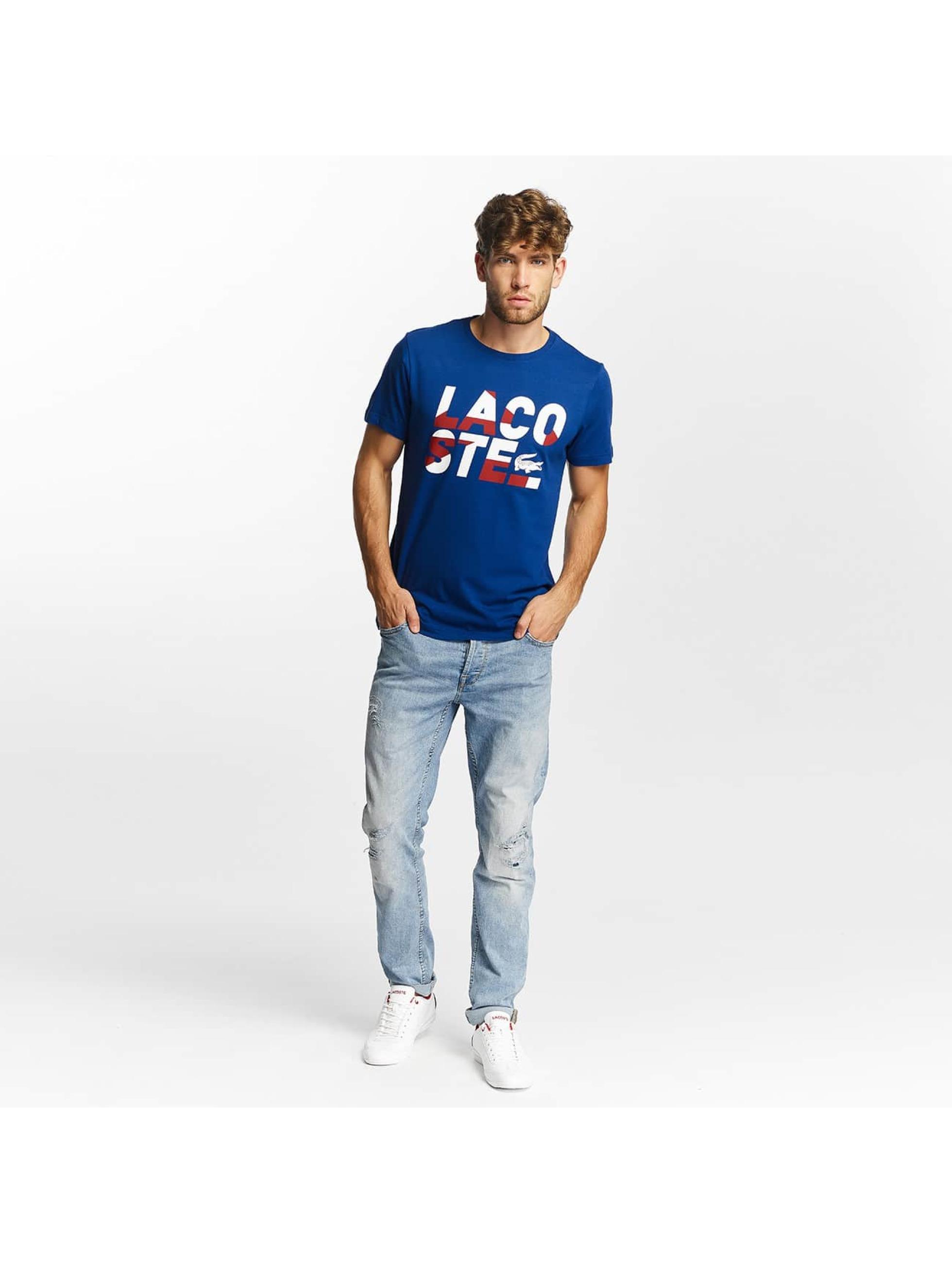 Lacoste T-Shirt Kroko blue