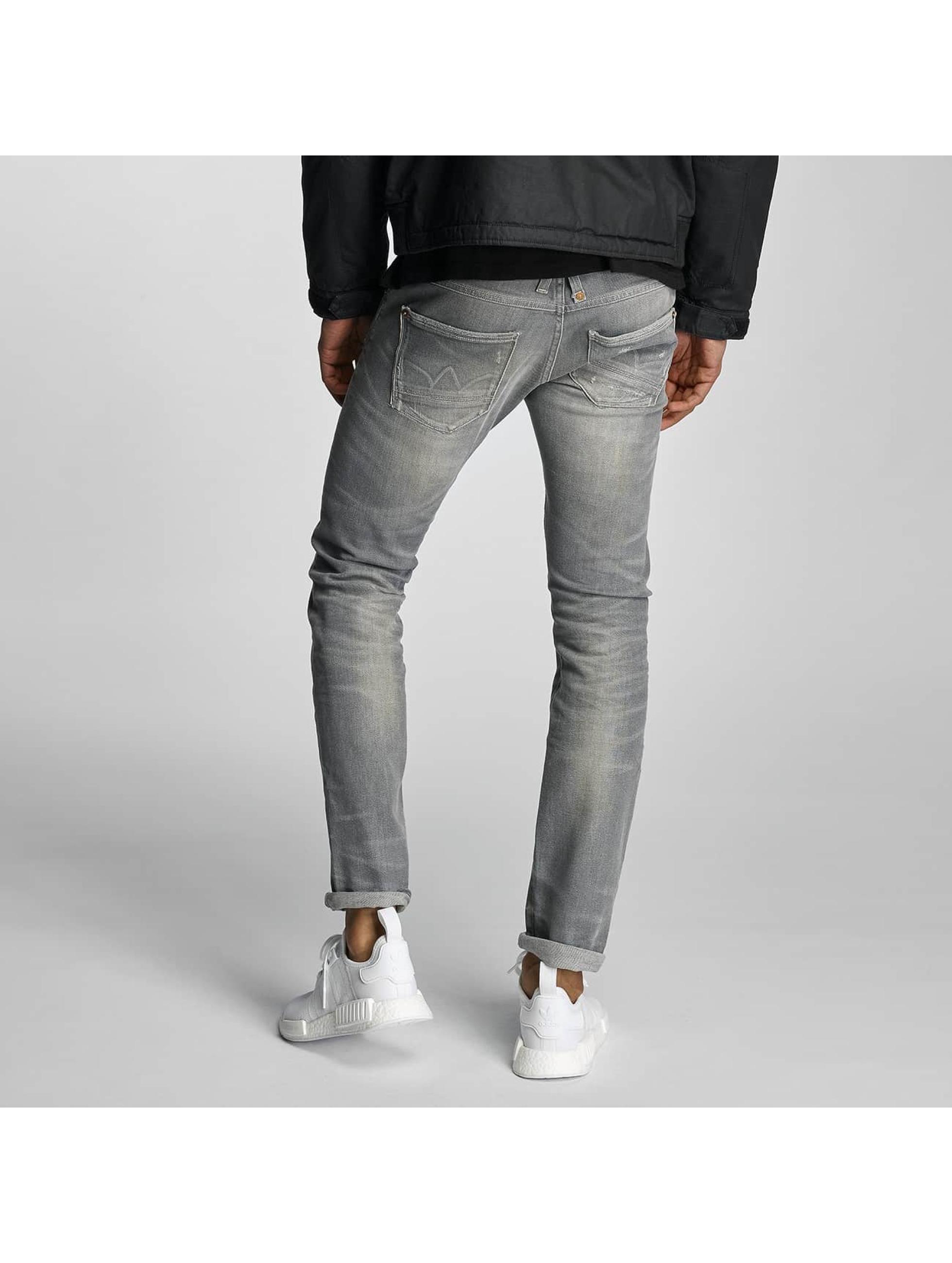 Le Temps Des Cerises Straight Fit Jeans 711 Mark gray