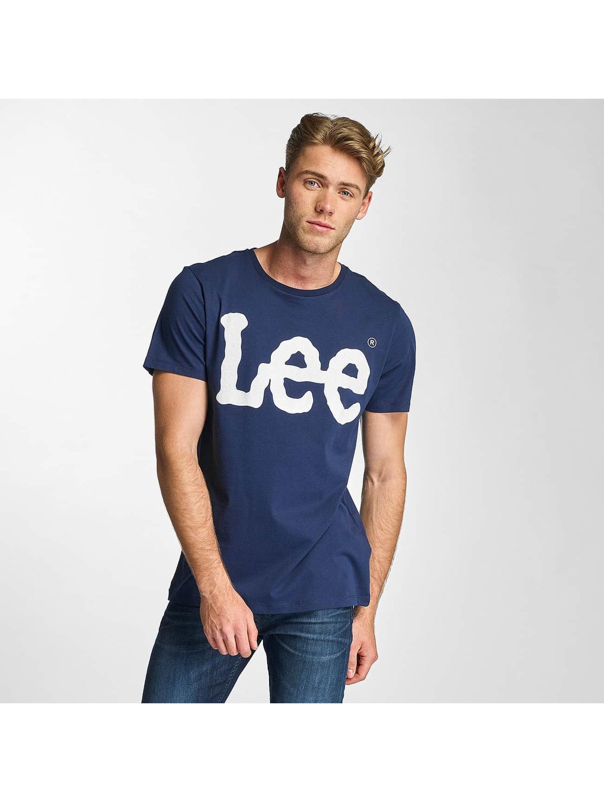 Lee T-Shirt Logo blue