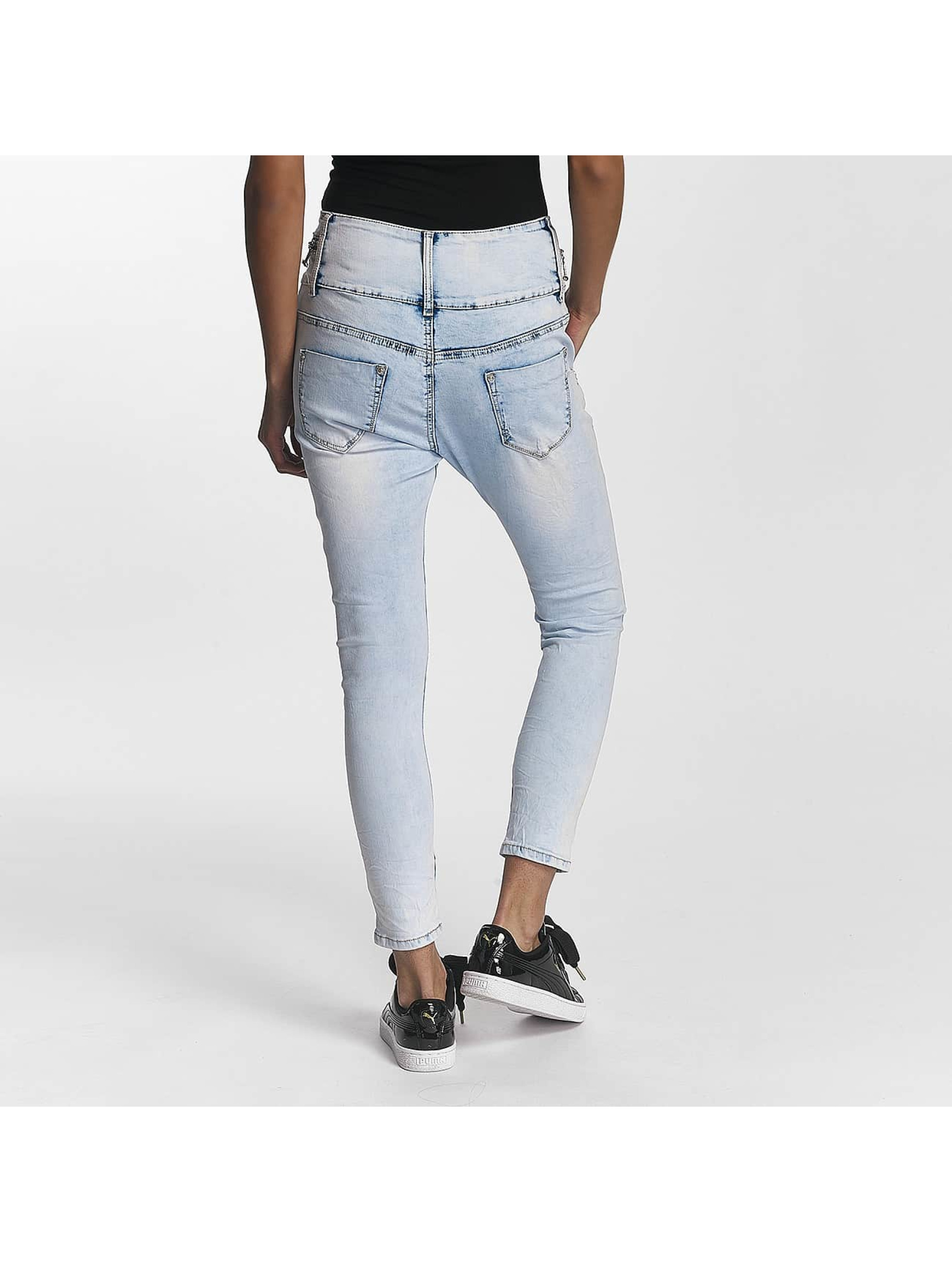 Leg Kings Boyfriend Jeans Reality Fashion blue