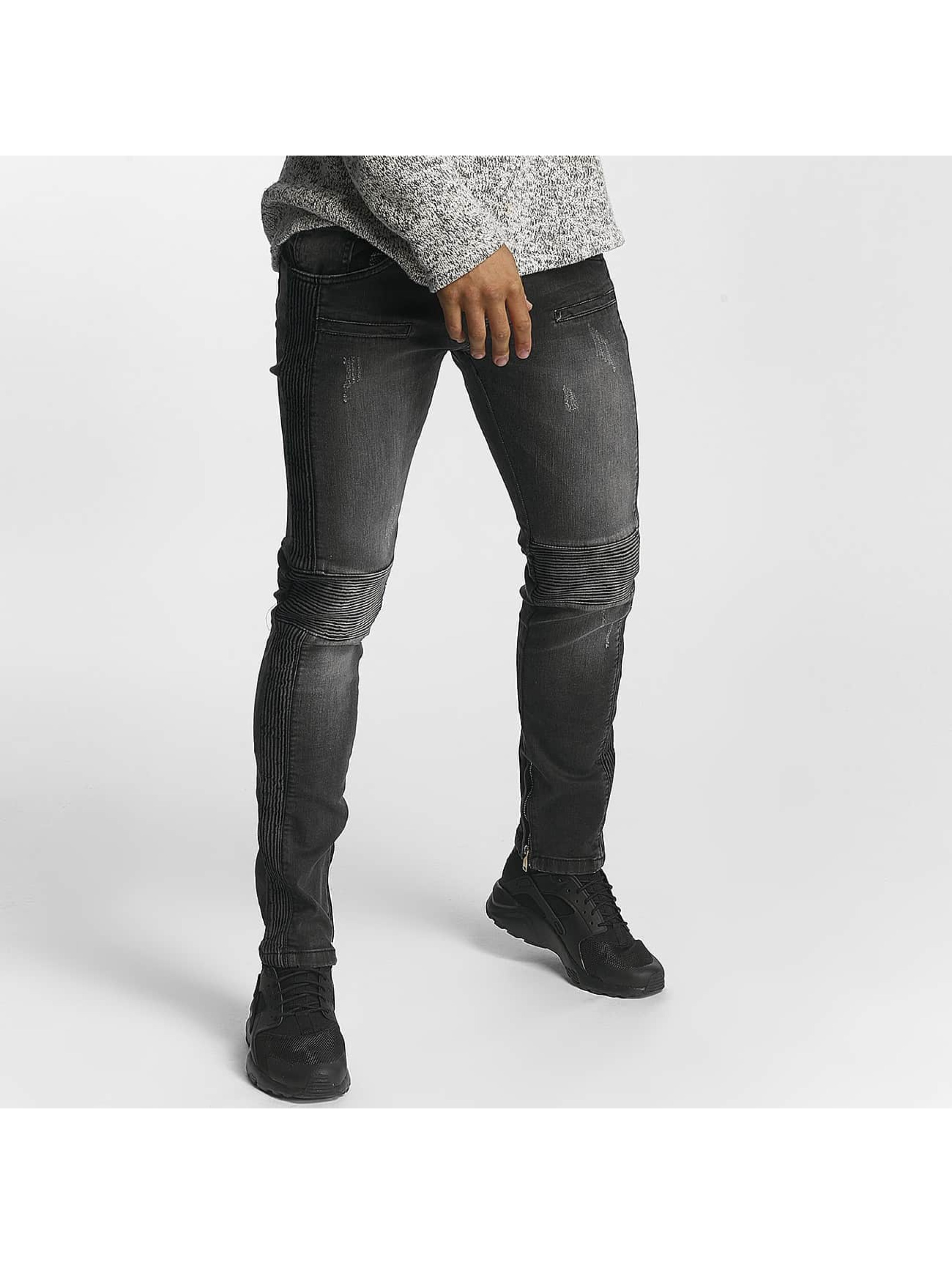 Leg Kings Slim Fit Jeans Guiliano black