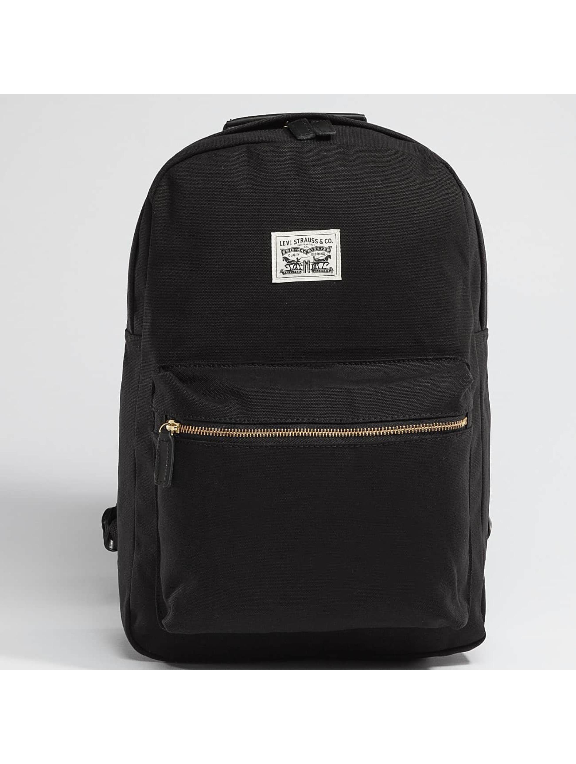 levi 39 s accessoires sac dos original backpack en noir 336712. Black Bedroom Furniture Sets. Home Design Ideas