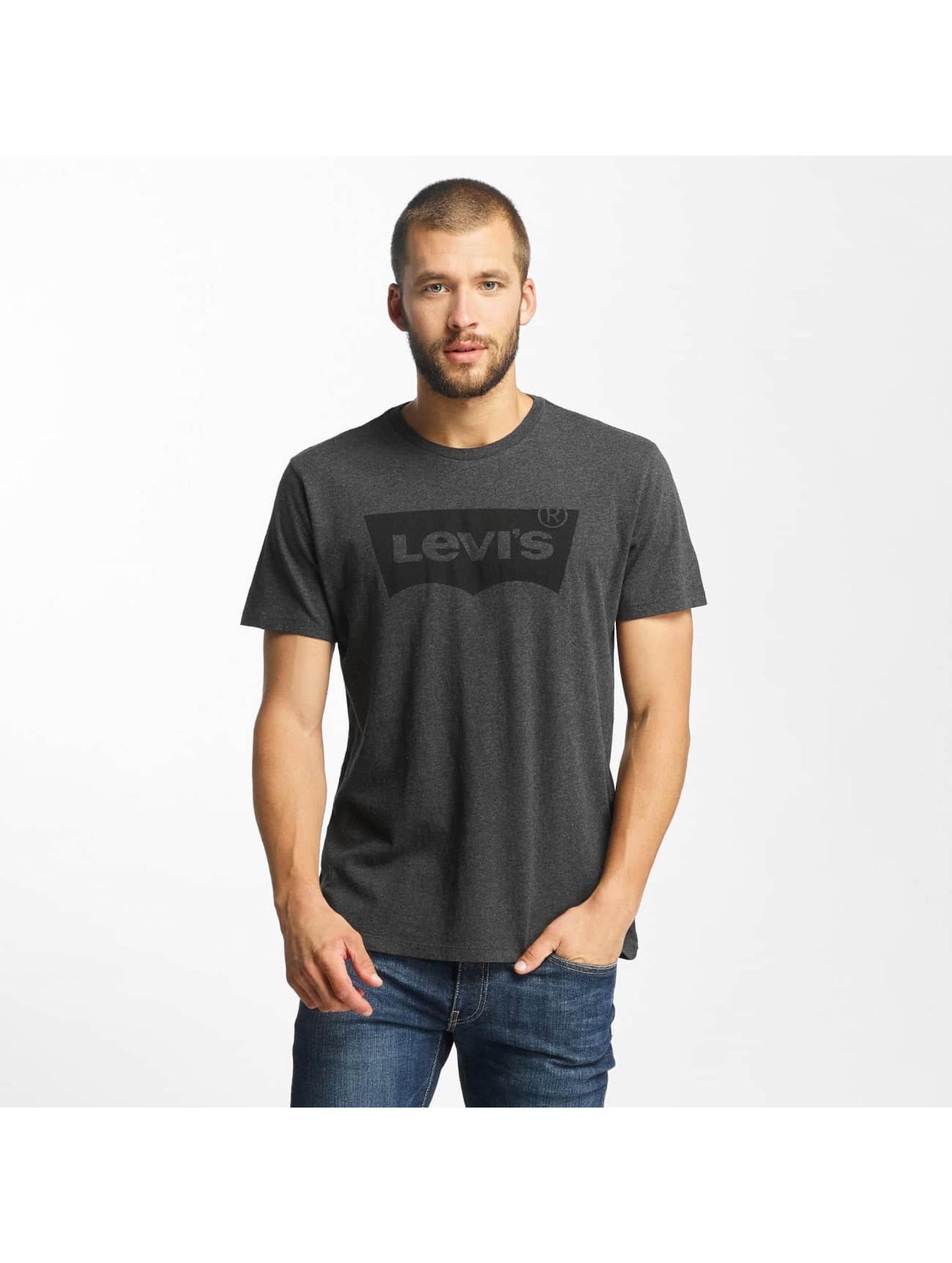levi 39 s herren t shirt housemark graphic in schwarz 344928. Black Bedroom Furniture Sets. Home Design Ideas