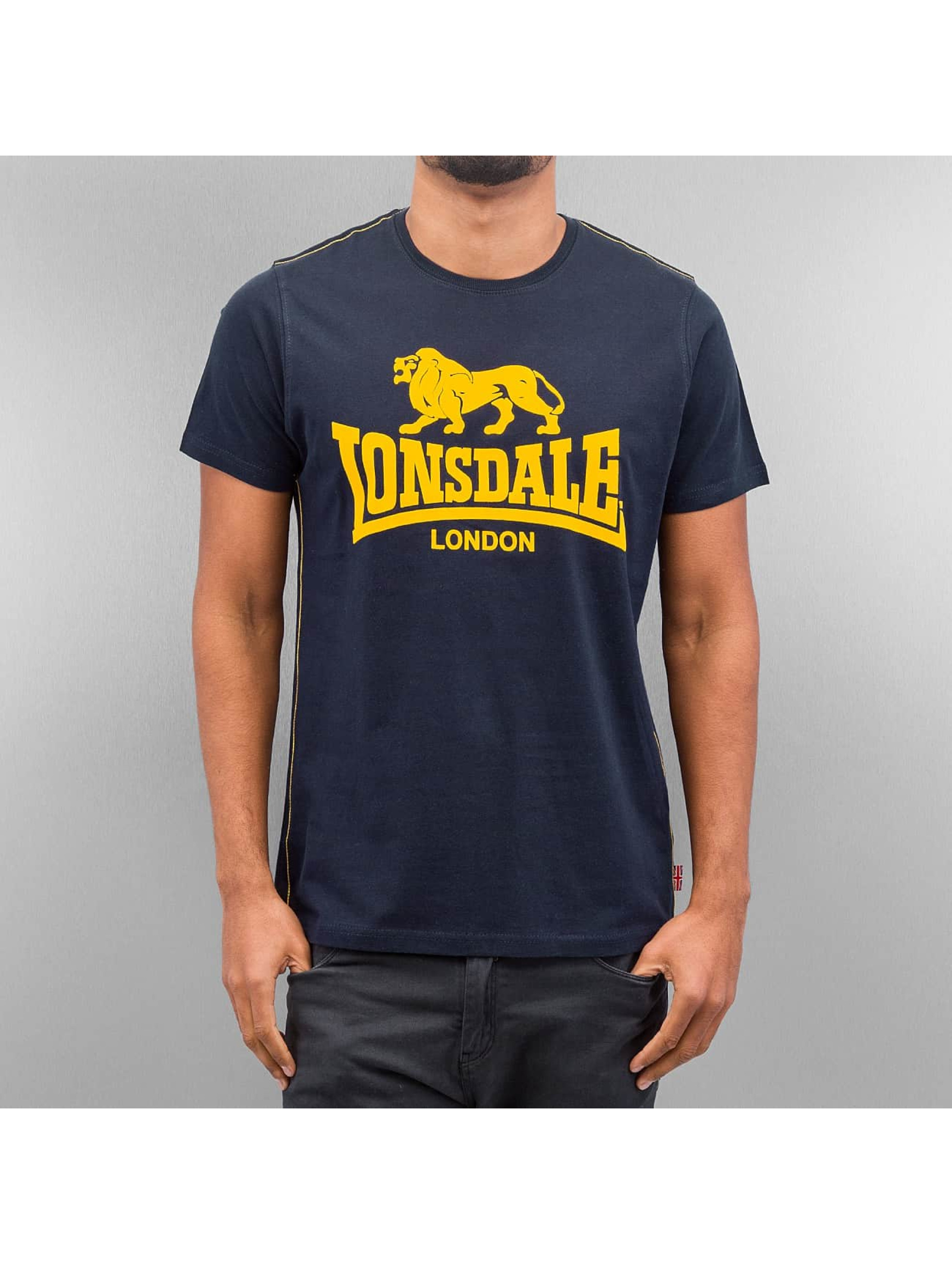 lonsdale london t shirt smith reloaded in blau 98535. Black Bedroom Furniture Sets. Home Design Ideas