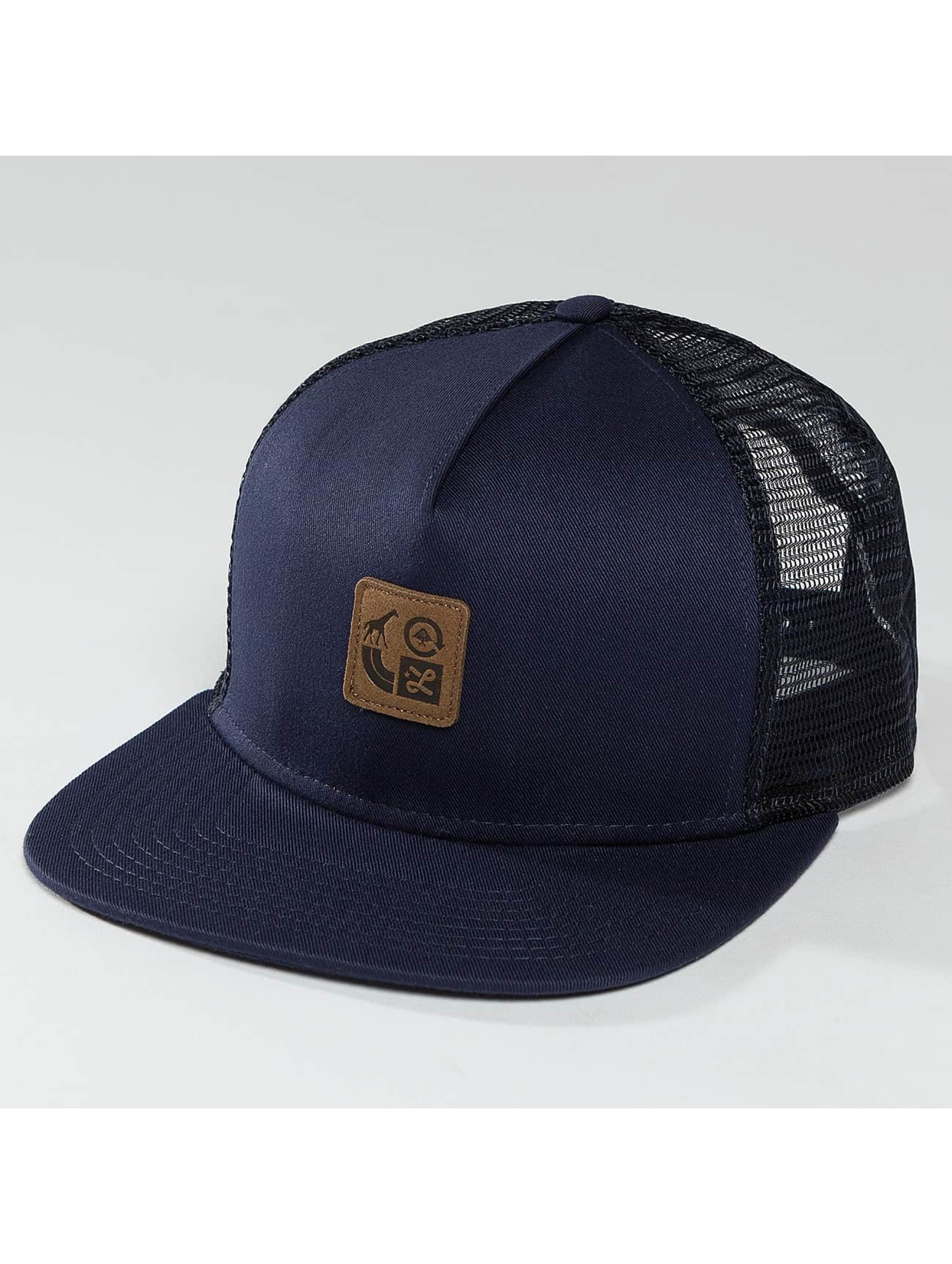 LRG Trucker Cap Icons blue