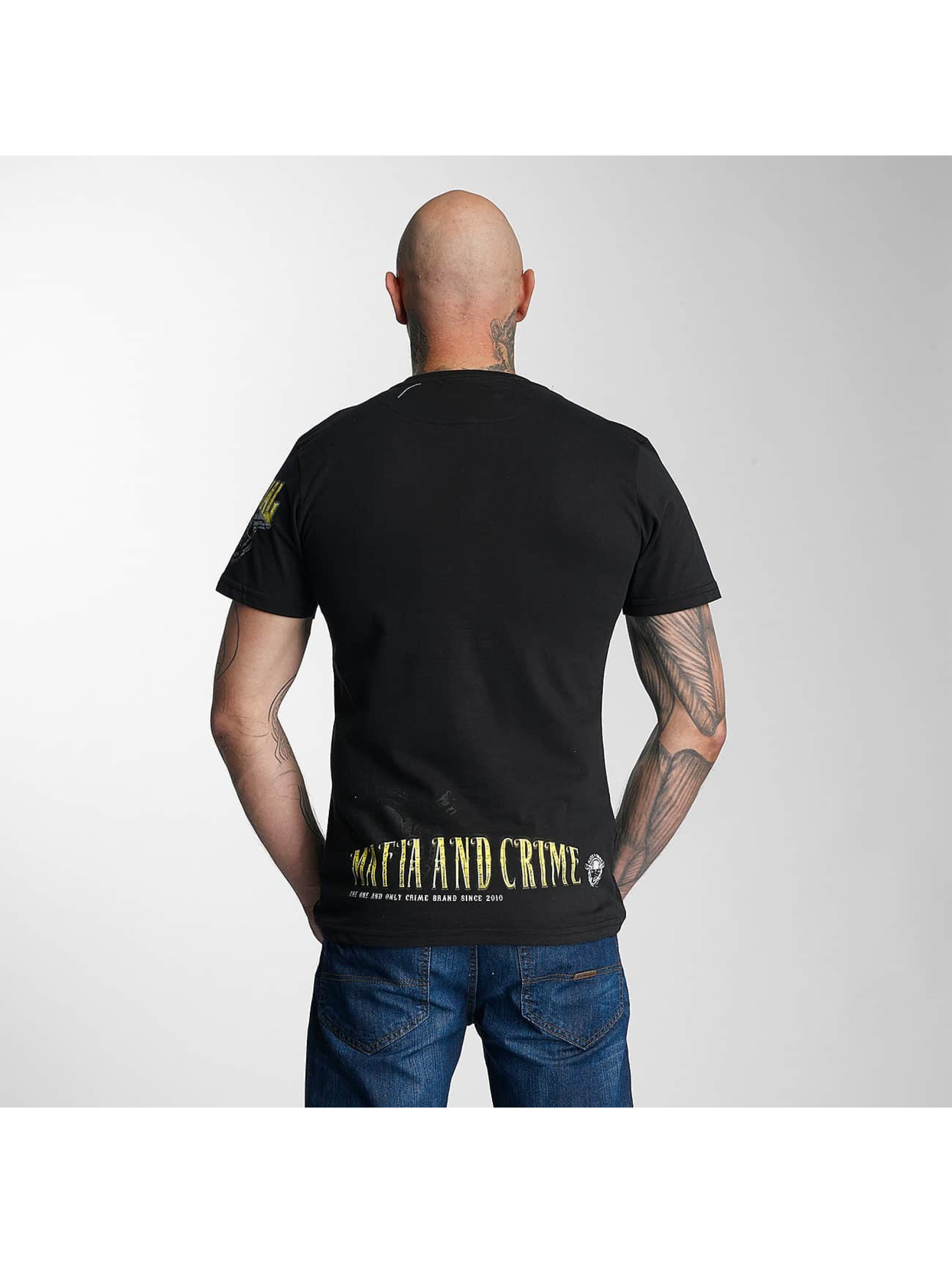 Mafia & Crime T-Shirt Criminal black