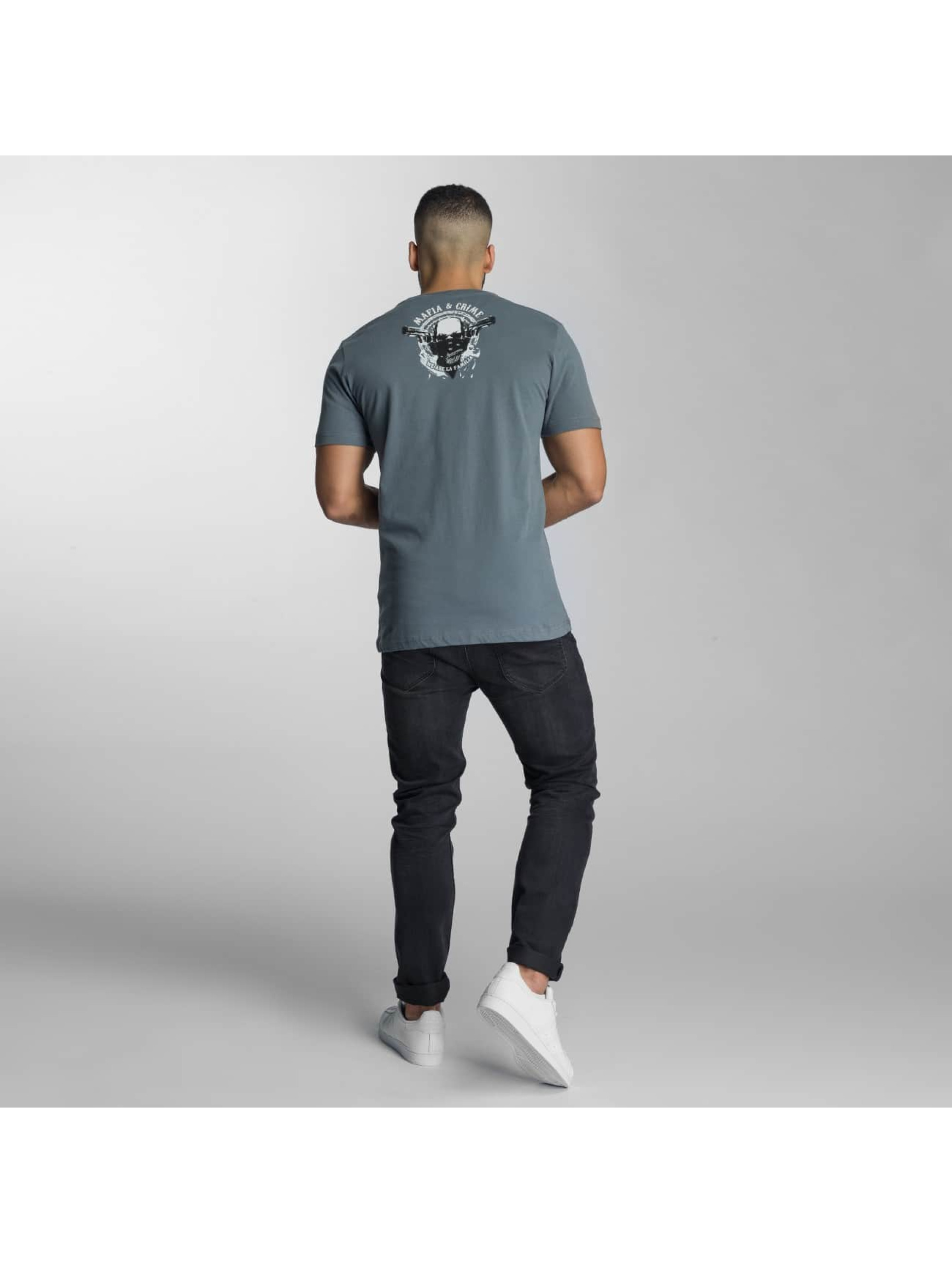 Mafia & Crime T-Shirt Fuck The... gray
