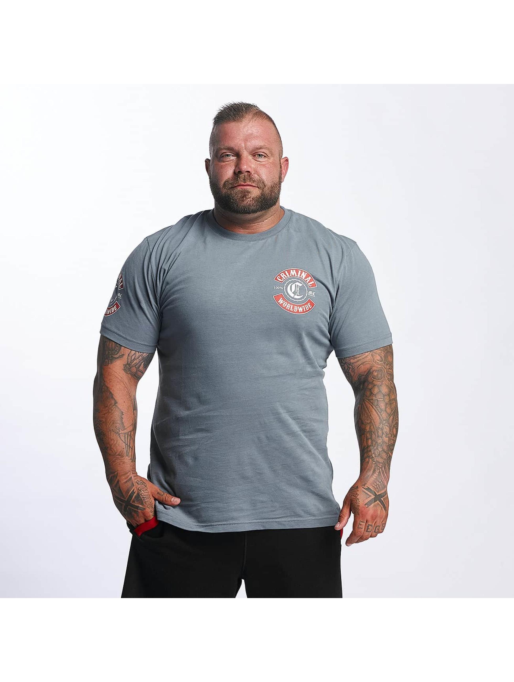 Mafia & Crime T-Shirt MC182 gray